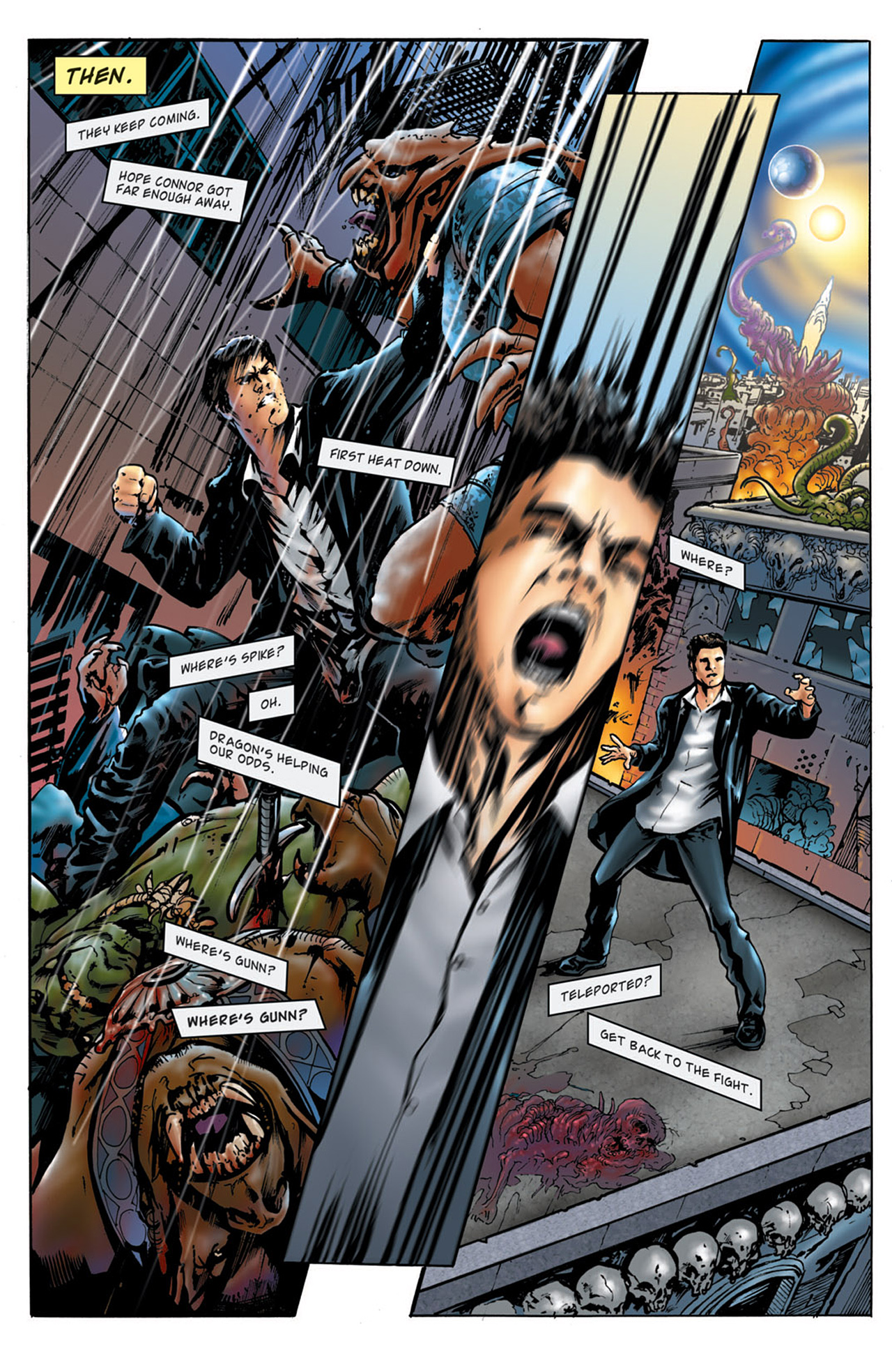 Read online Angel: After The Fall comic -  Issue #4 - 5