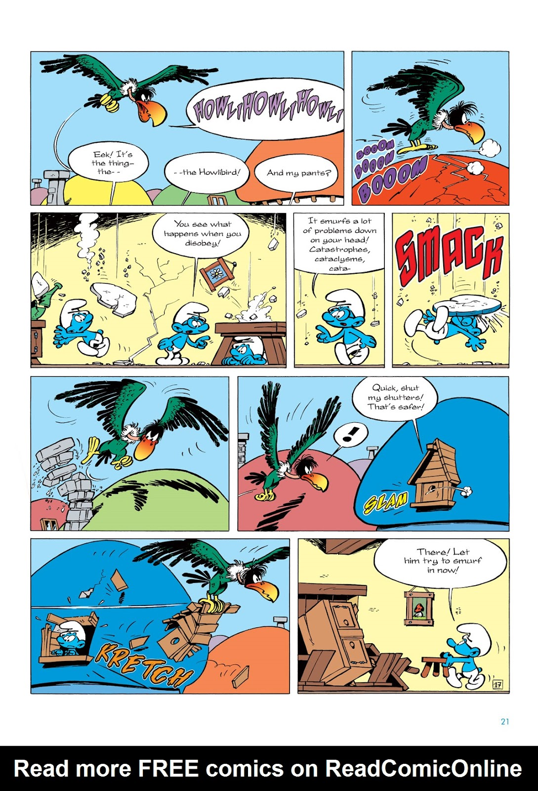 Read online The Smurfs comic -  Issue #6 - 21