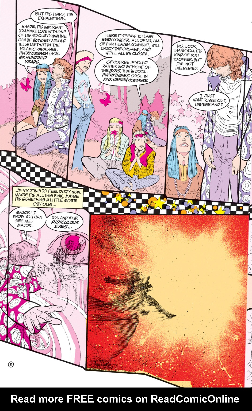 Read online Shade, the Changing Man comic -  Issue #8 - 10