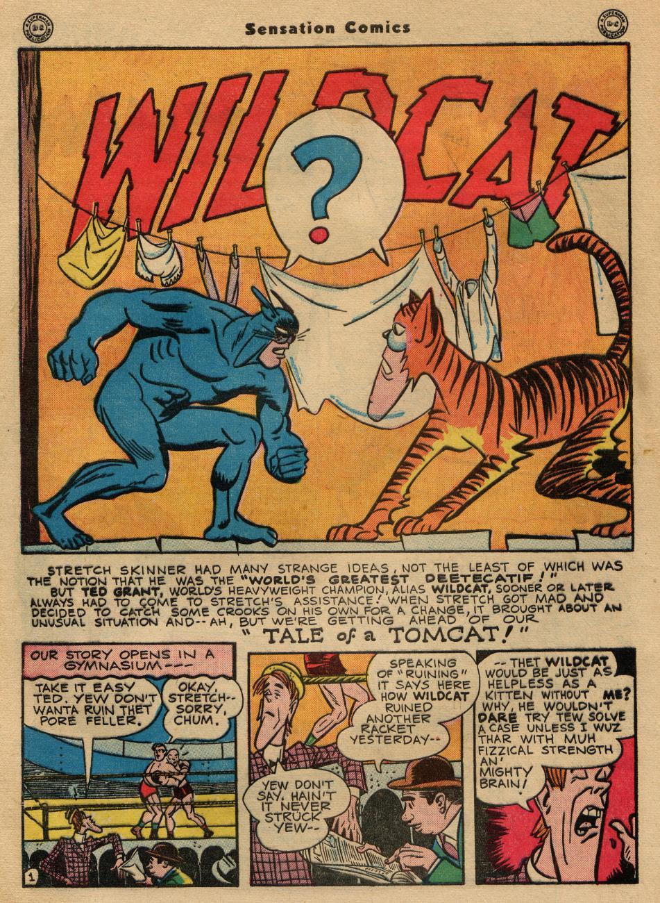 Read online Sensation (Mystery) Comics comic -  Issue #49 - 42