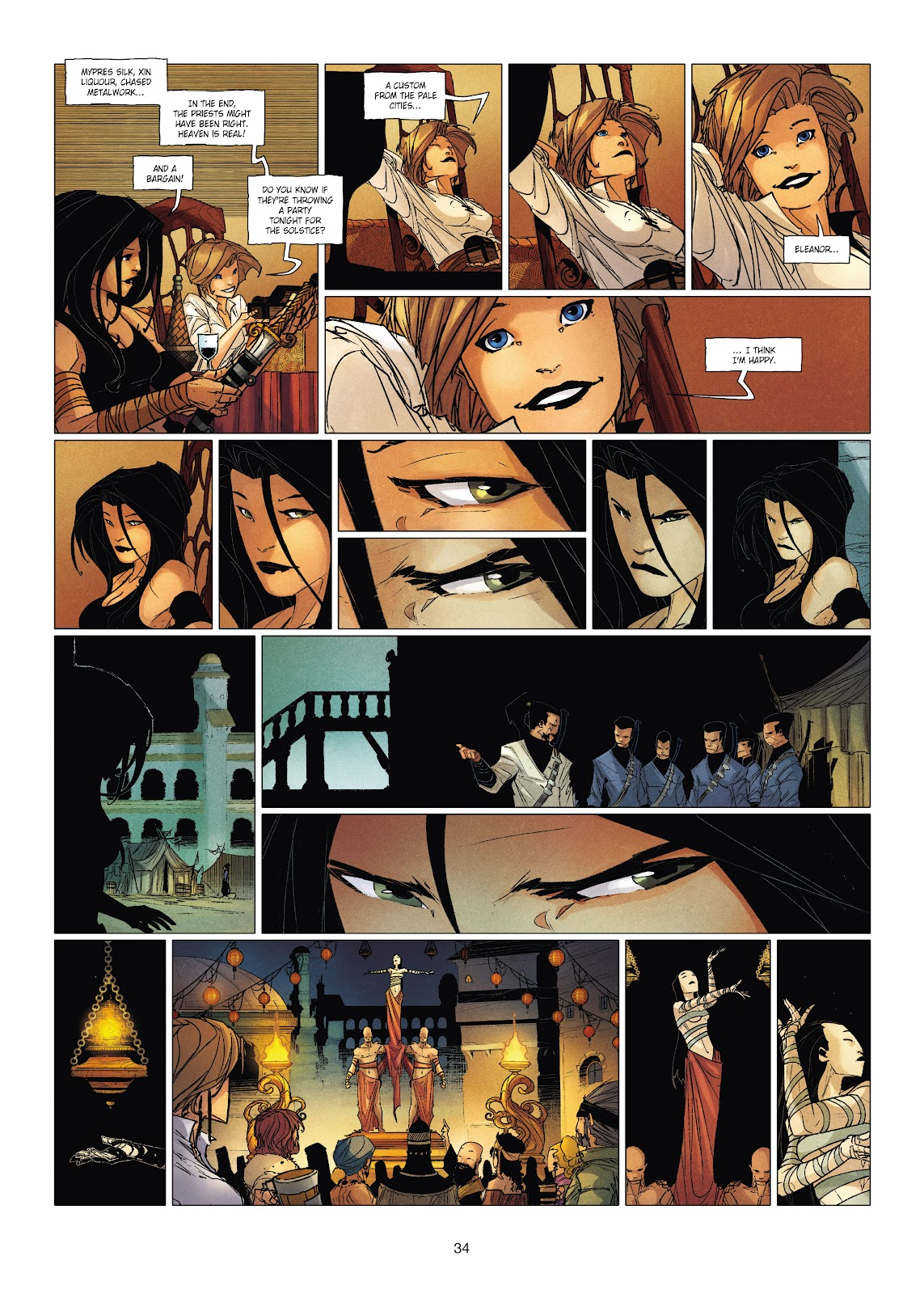 Read online Chronicles of the Dragon Knights comic -  Issue #19 - 34