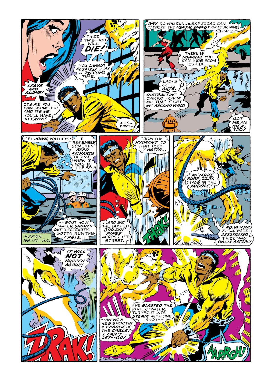 Read online Marvel Masterworks: Luke Cage, Power Man comic -  Issue # TPB 3 (Part 3) - 111