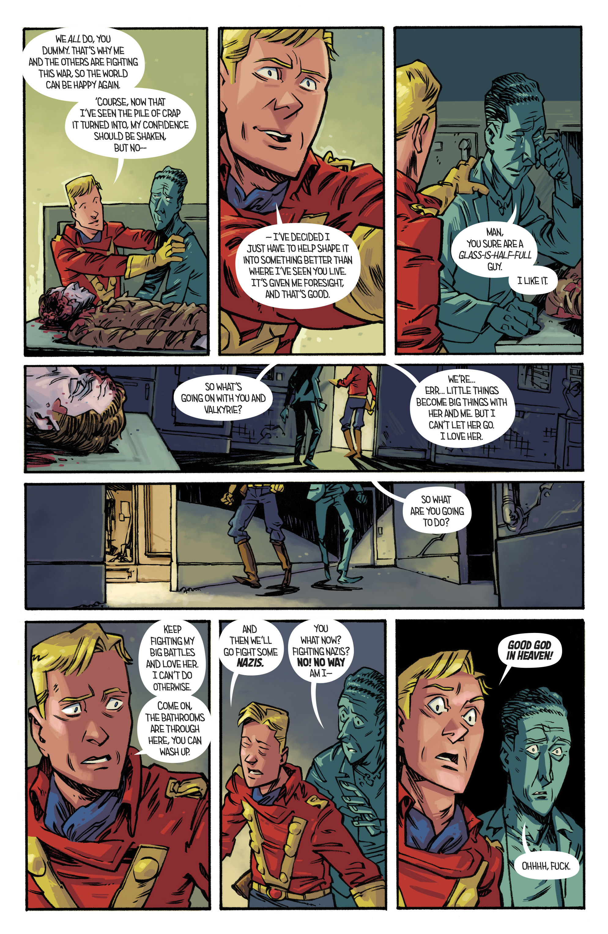 Read online Airboy comic -  Issue #3 - 18