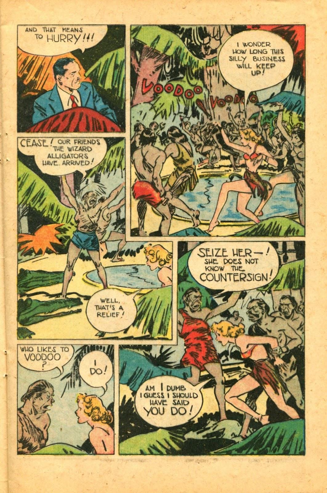 Read online Super-Magician Comics comic -  Issue #49 - 13