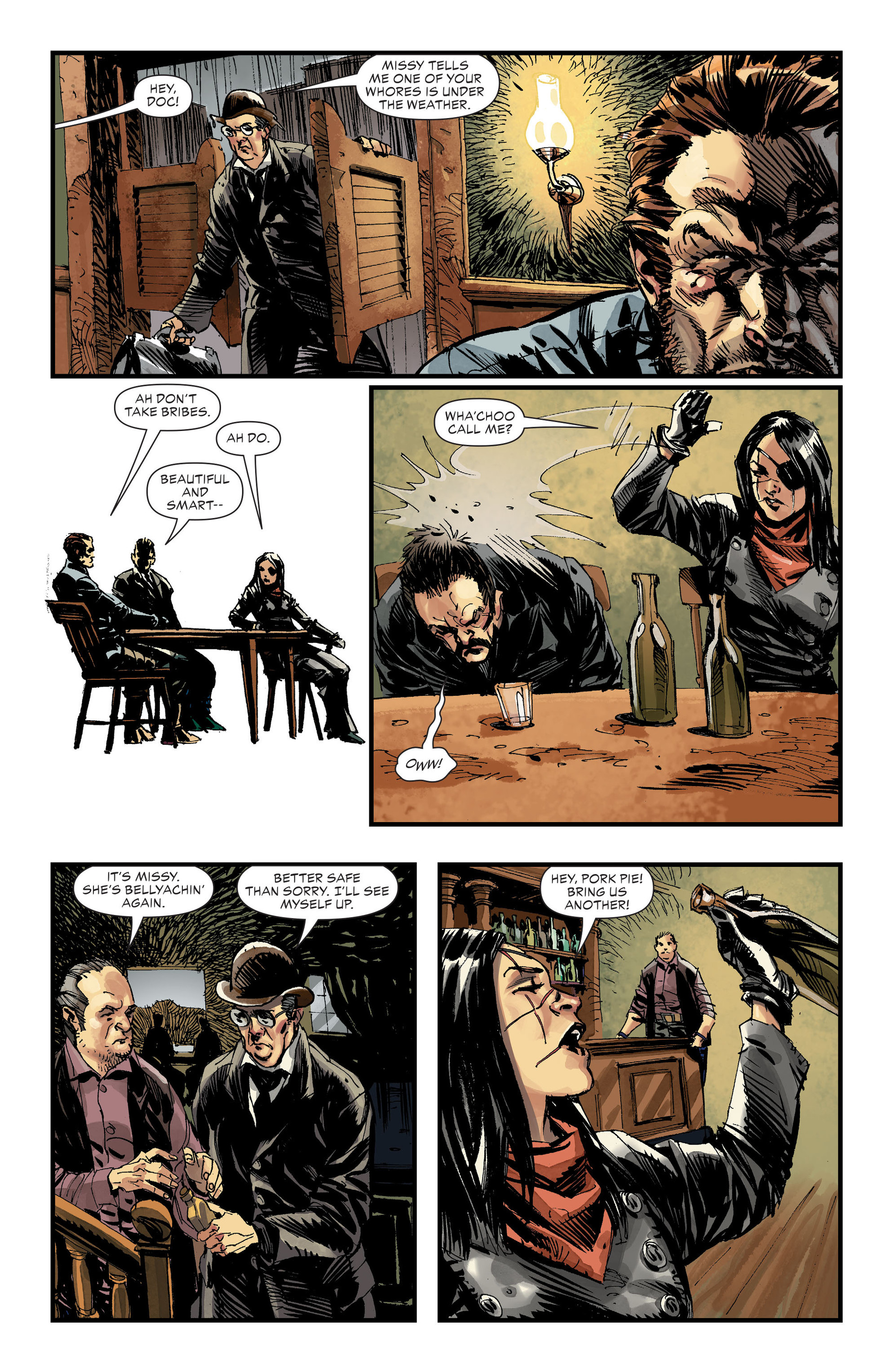 Read online All-Star Western (2011) comic -  Issue #32 - 8