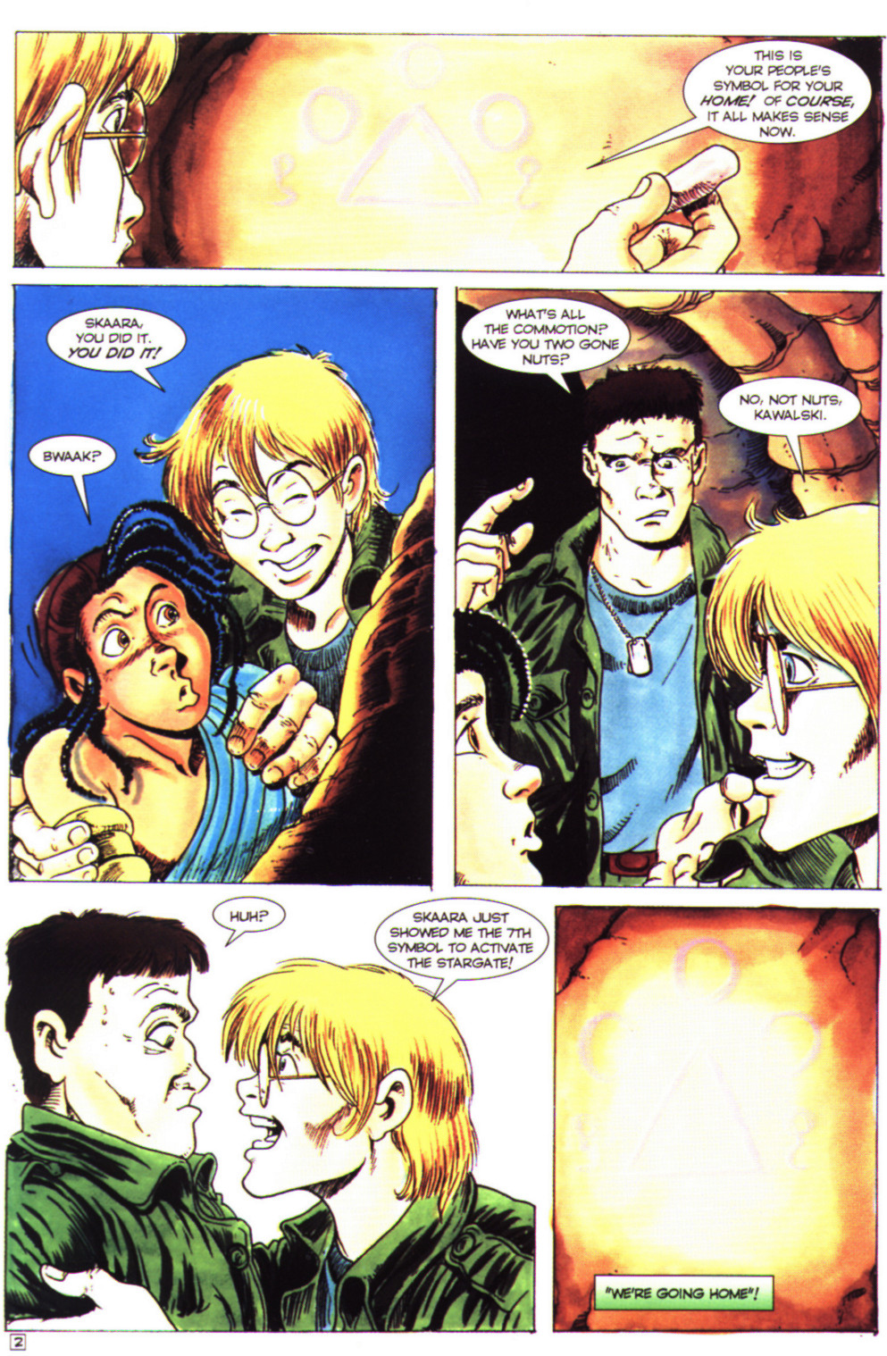 Read online Stargate comic -  Issue #4 - 4