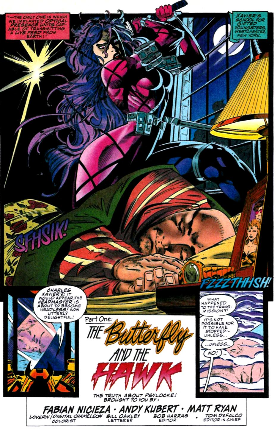 X-Men (1991) 31 Page 3