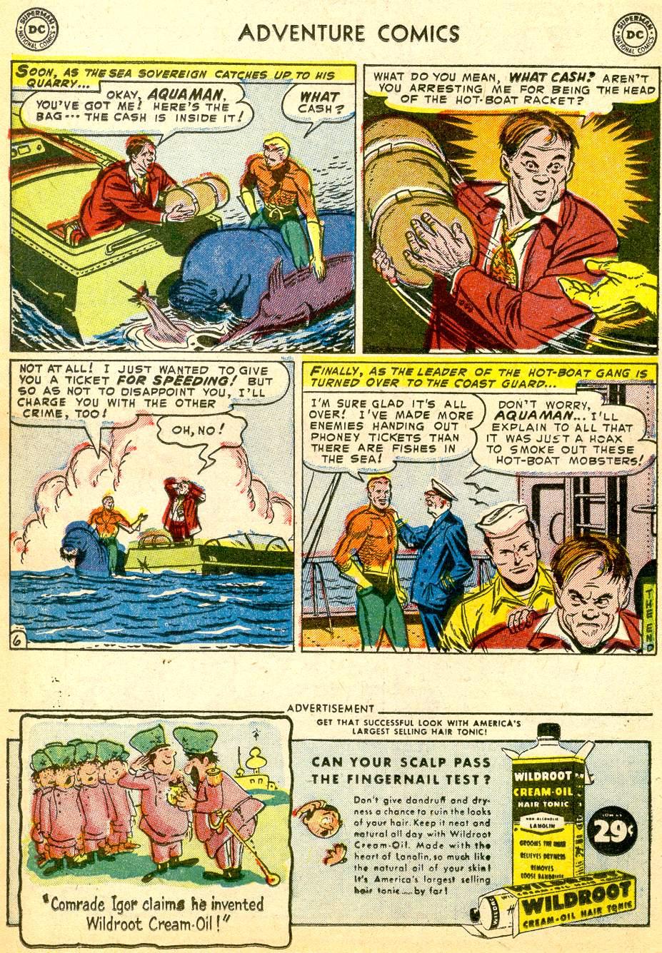 Read online Adventure Comics (1938) comic -  Issue #191 - 22