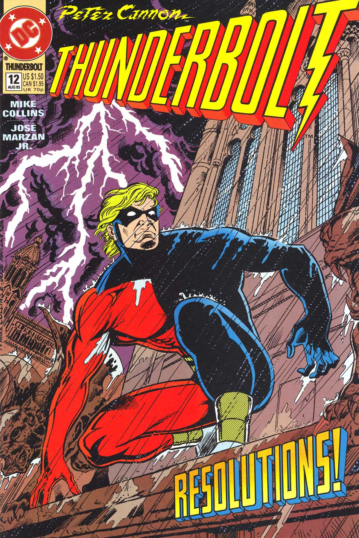 Read online Peter Cannon--Thunderbolt (1992) comic -  Issue #12 - 1
