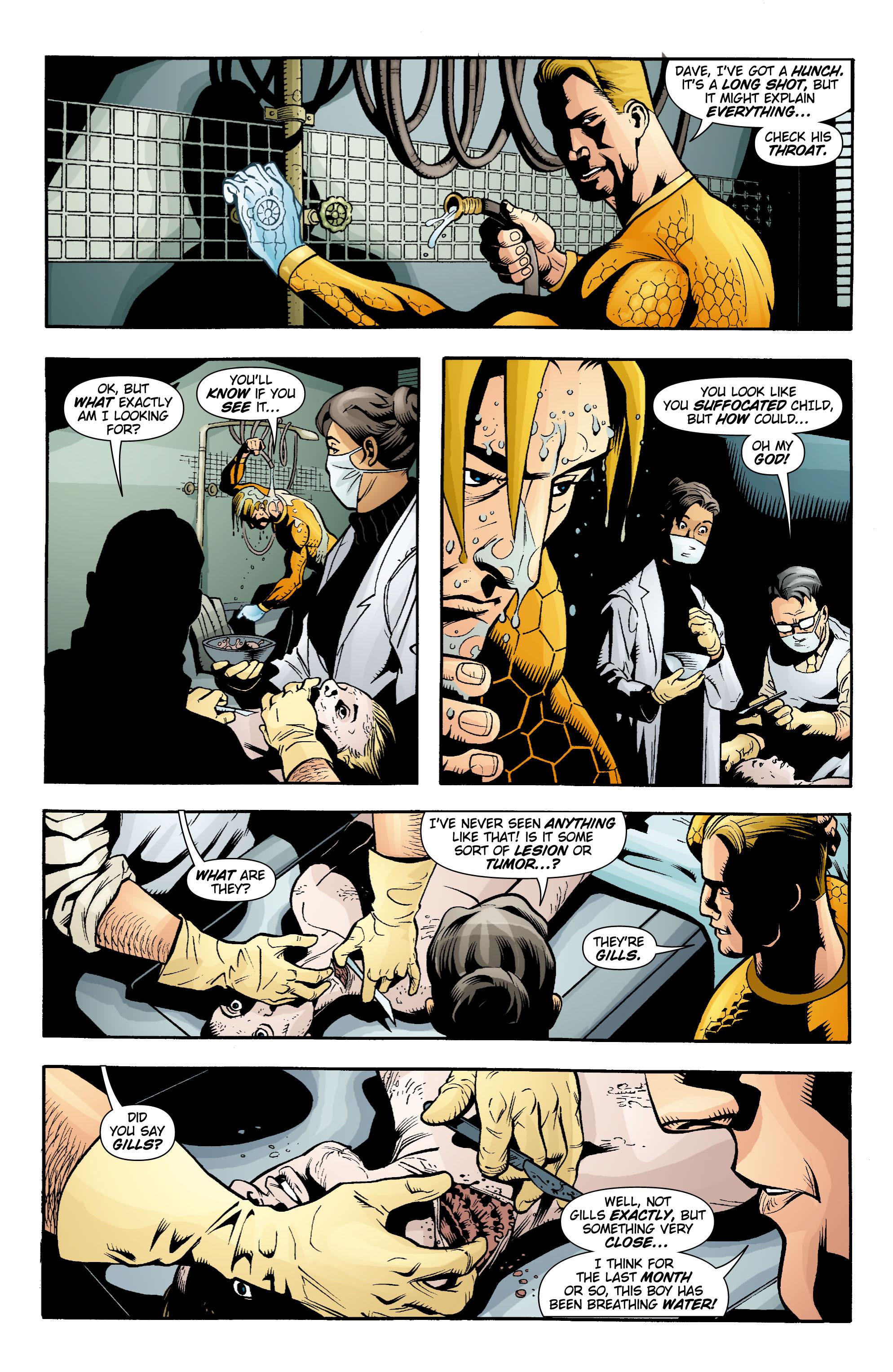 Read online Aquaman (2003) comic -  Issue #15 - 21