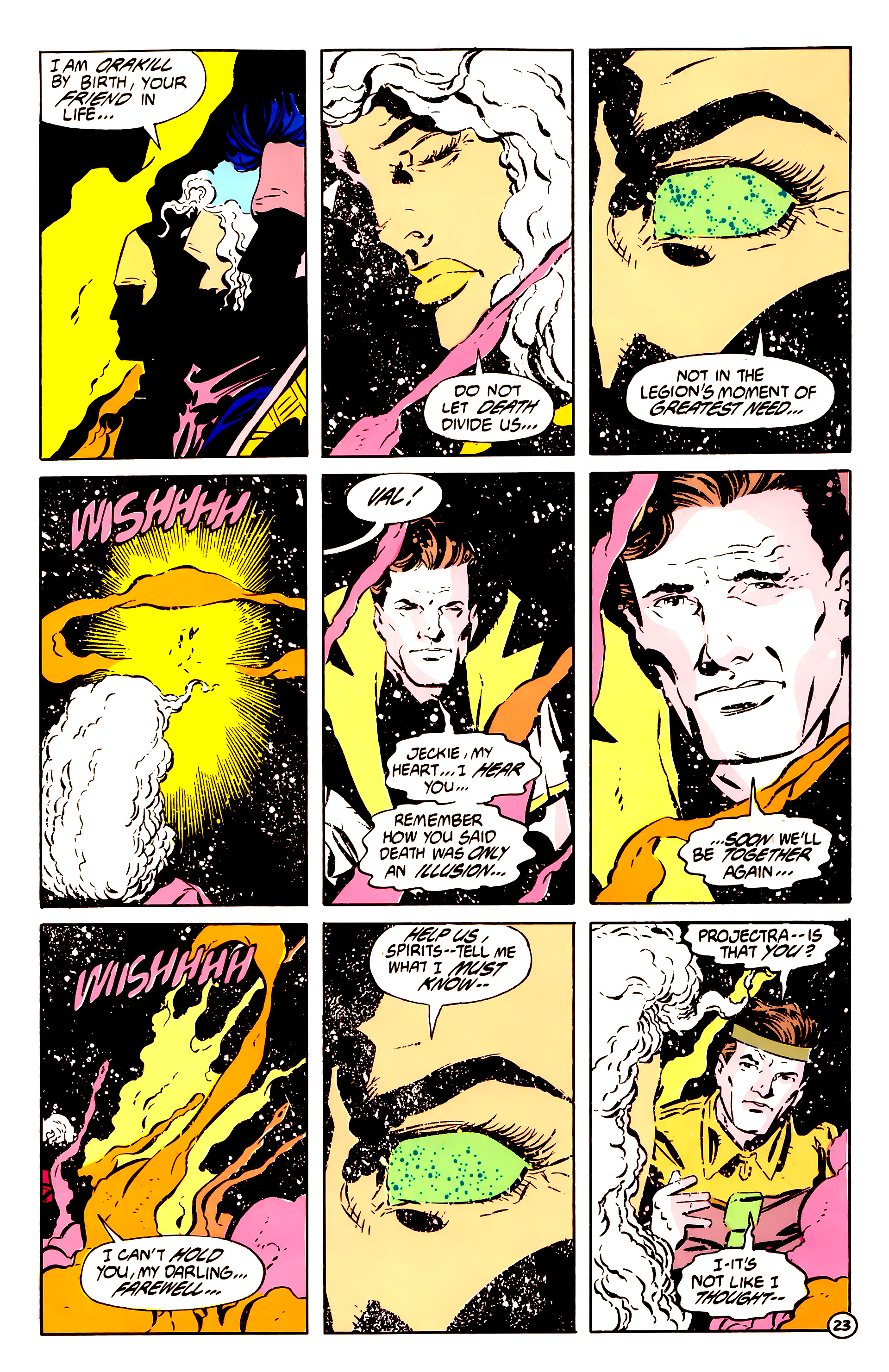 Legion of Super-Heroes (1984) 61 Page 23
