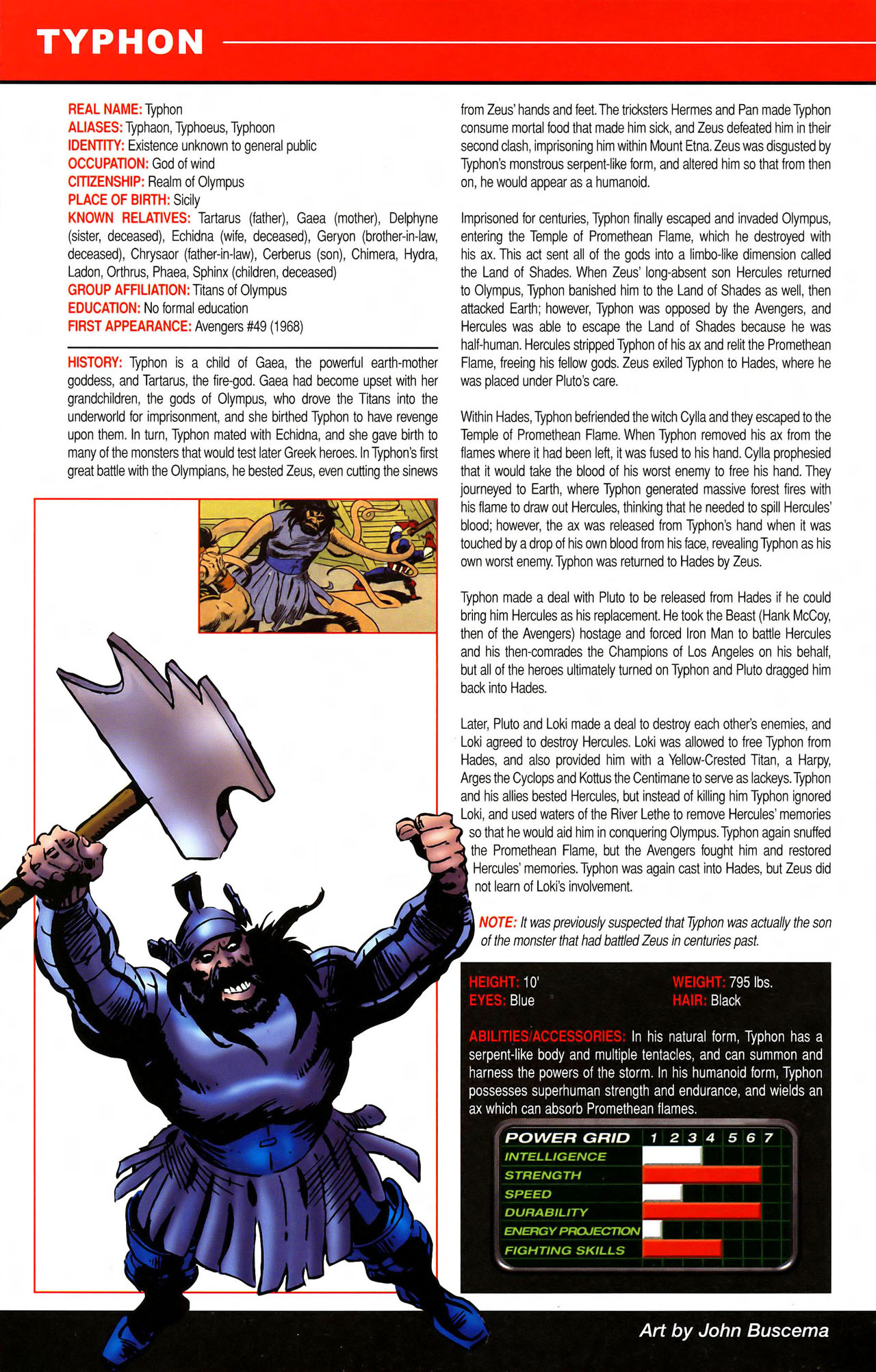 Read online All-New Official Handbook of the Marvel Universe A to Z comic -  Issue #11 - 62