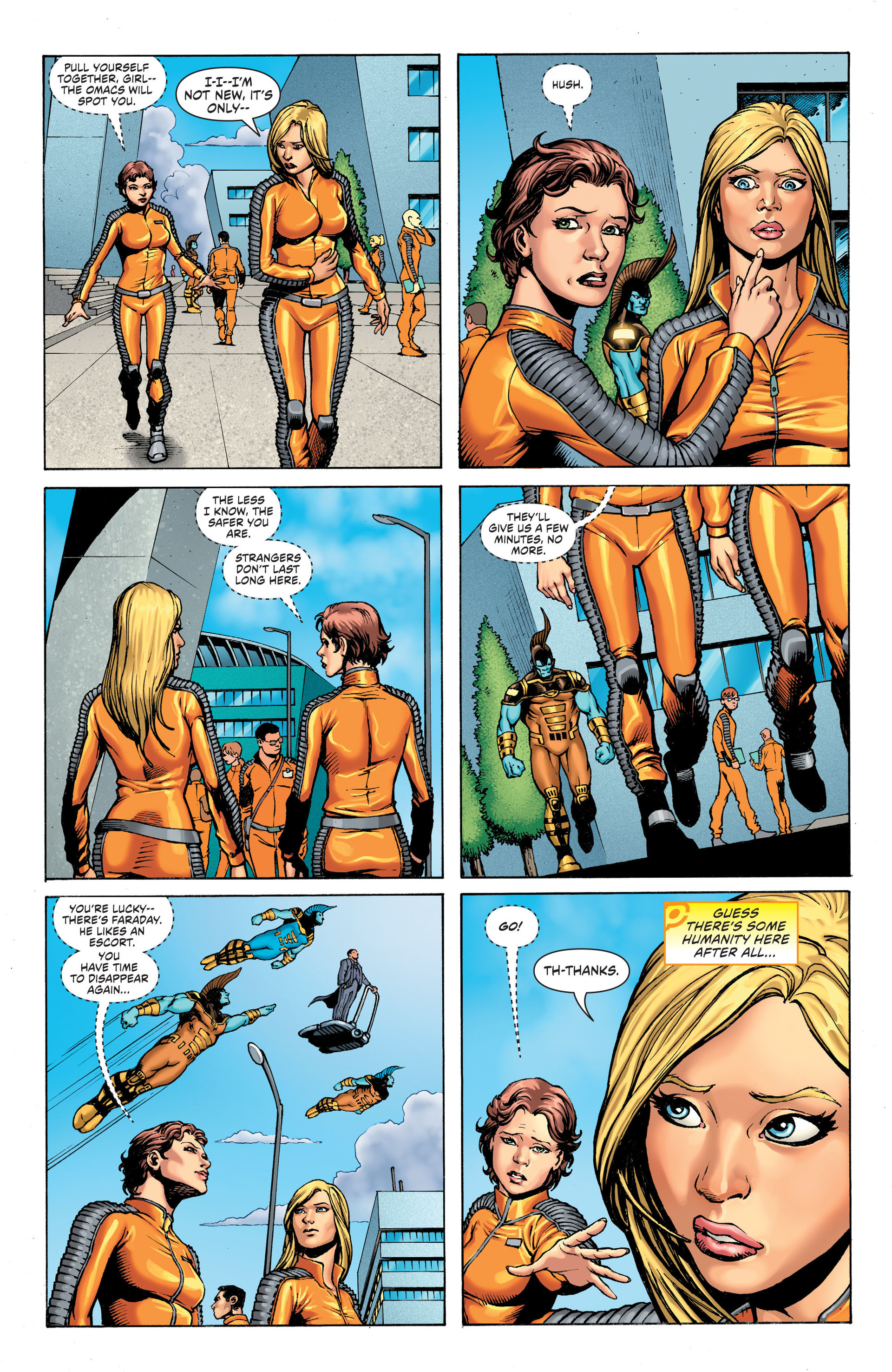 Read online Worlds' Finest: Futures End comic -  Issue # Full - 8