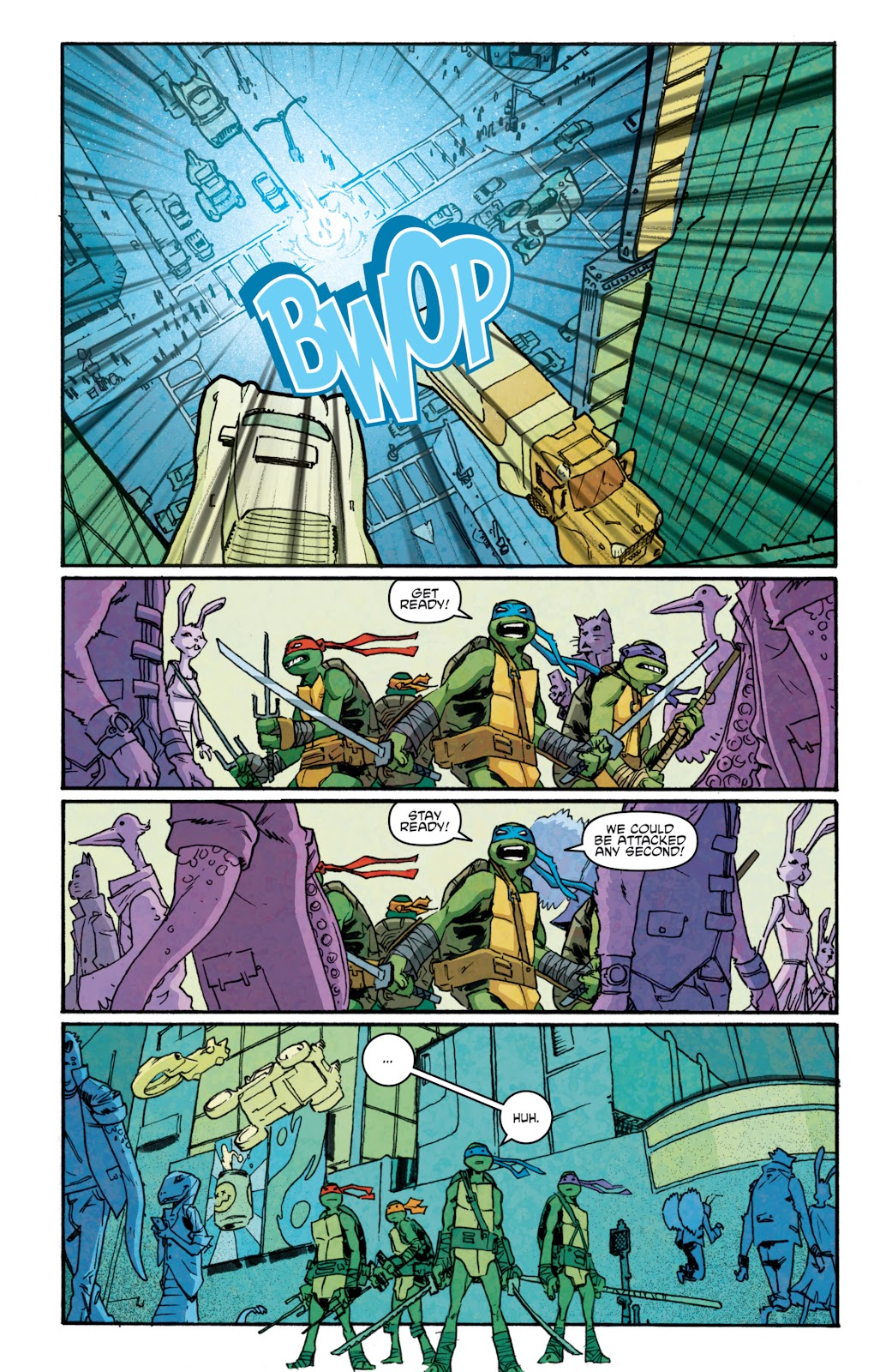 Read online Teenage Mutant Ninja Turtles: The IDW Collection comic -  Issue # TPB 5 (Part 1) - 76