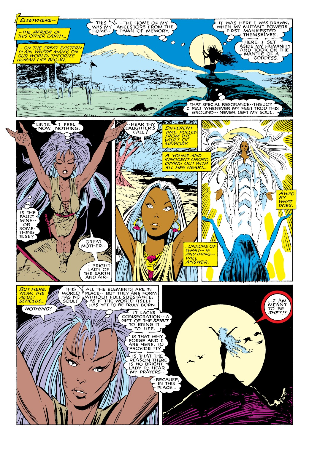 Read online X-Men Milestones: Fall of the Mutants comic -  Issue # TPB (Part 1) - 48