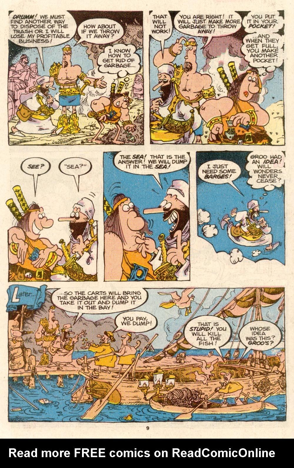 Read online Sergio Aragonés Groo the Wanderer comic -  Issue #65 - 9