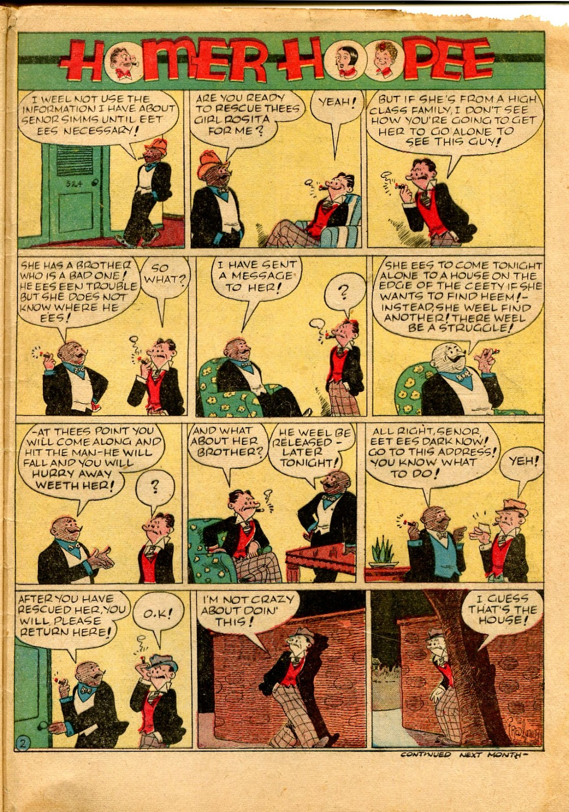 Read online Famous Funnies comic -  Issue #49 - 63