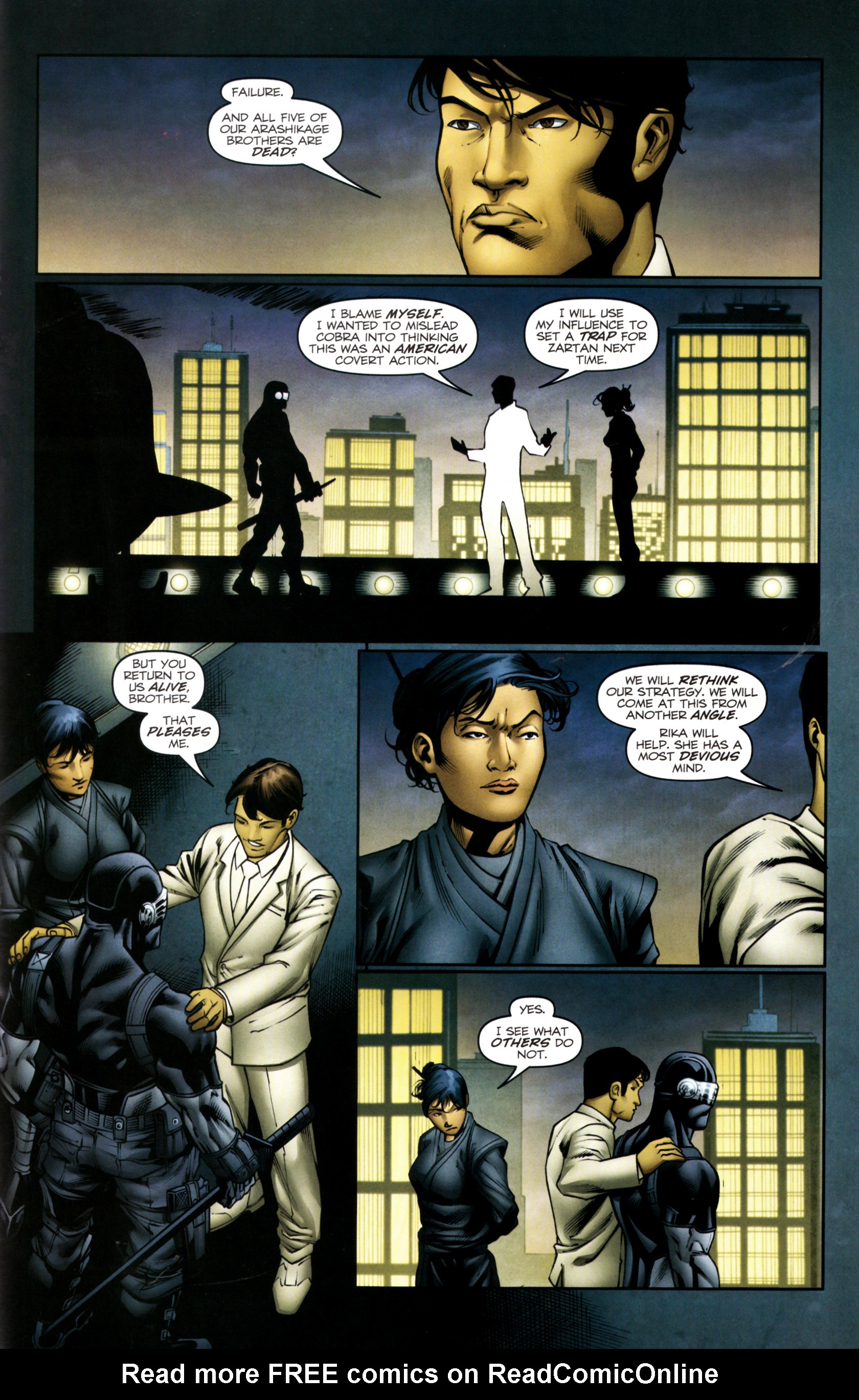 Read online Snake Eyes and Storm Shadow comic -  Issue #13 - 24