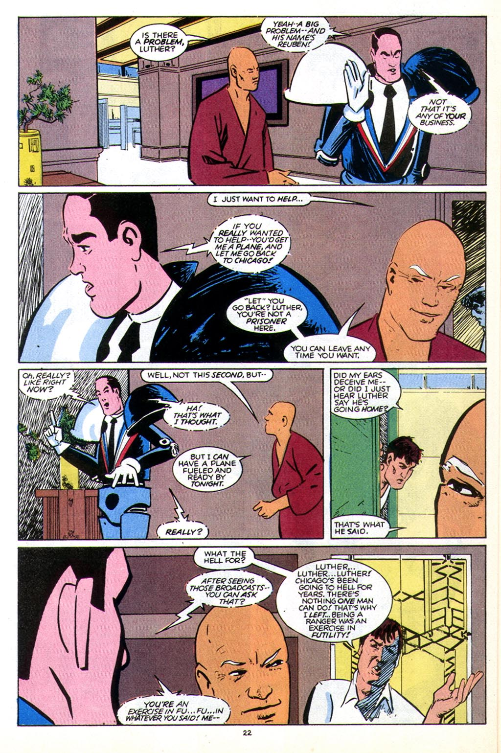 Read online American Flagg! comic -  Issue #43 - 28