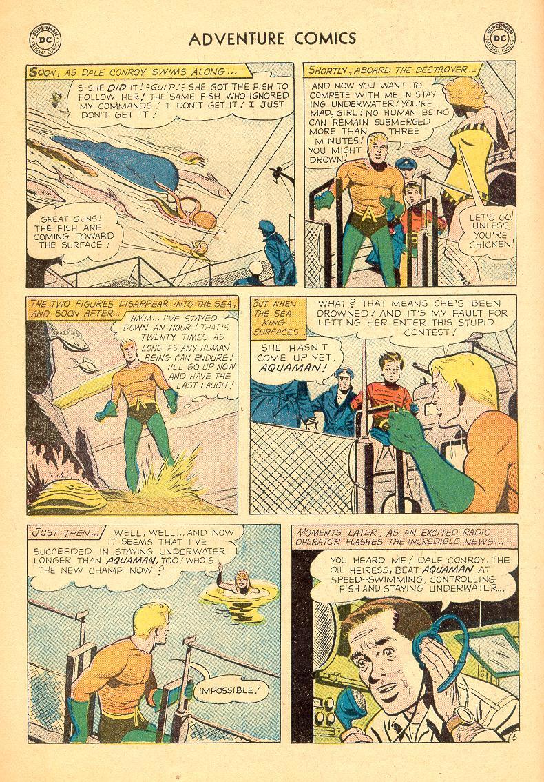 Read online Adventure Comics (1938) comic -  Issue #274 - 22