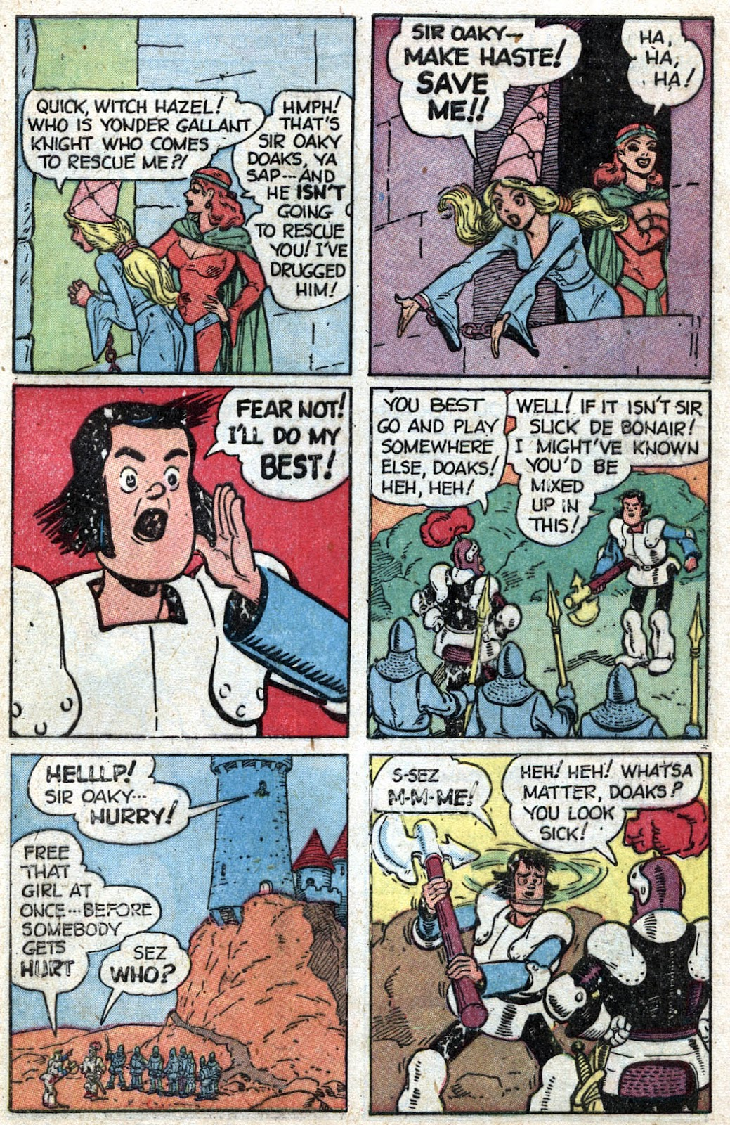 Read online Famous Funnies comic -  Issue #164 - 47