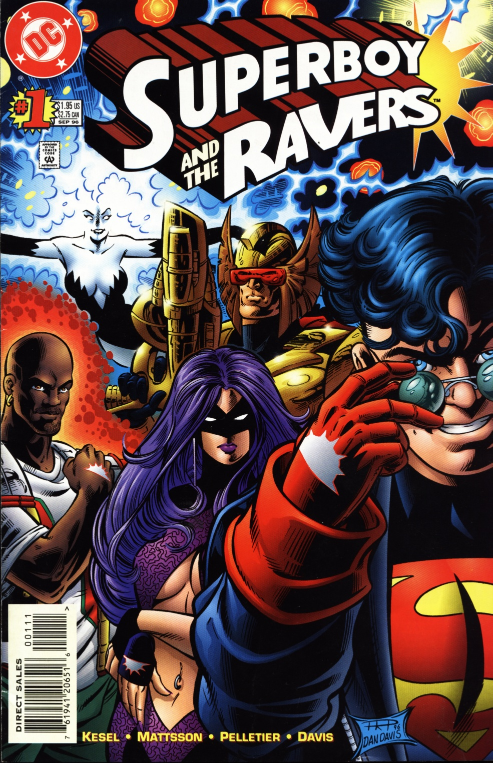 Read online Superboy & The Ravers comic -  Issue #1 - 1
