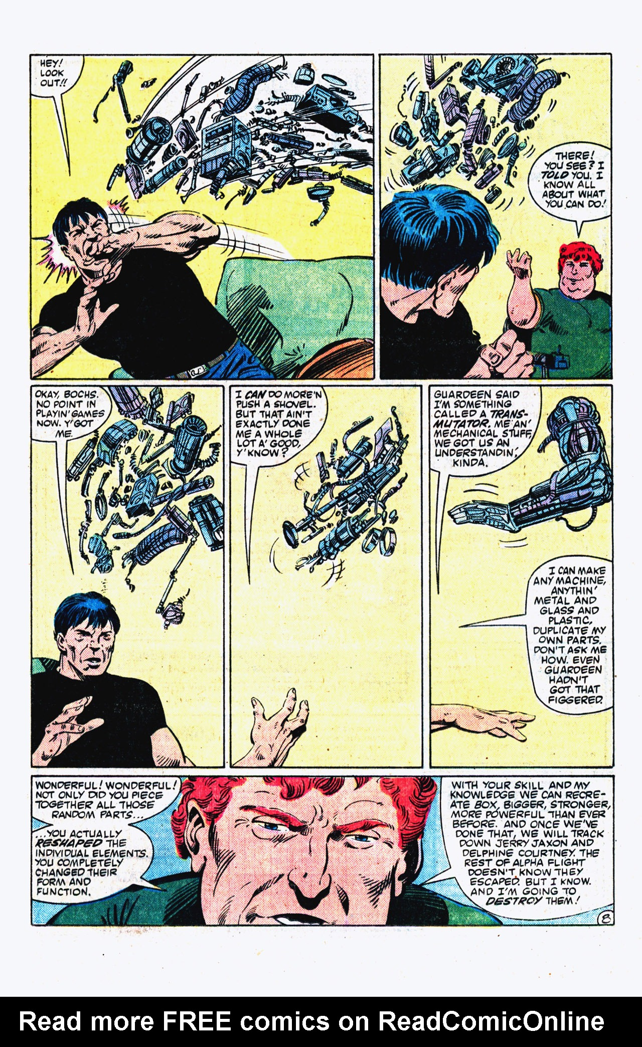 Read online Alpha Flight (1983) comic -  Issue #16 - 9