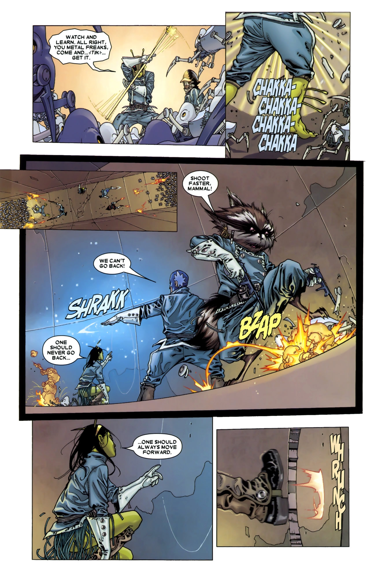 Read online Annihilation: Conquest - Starlord comic -  Issue #3 - 14
