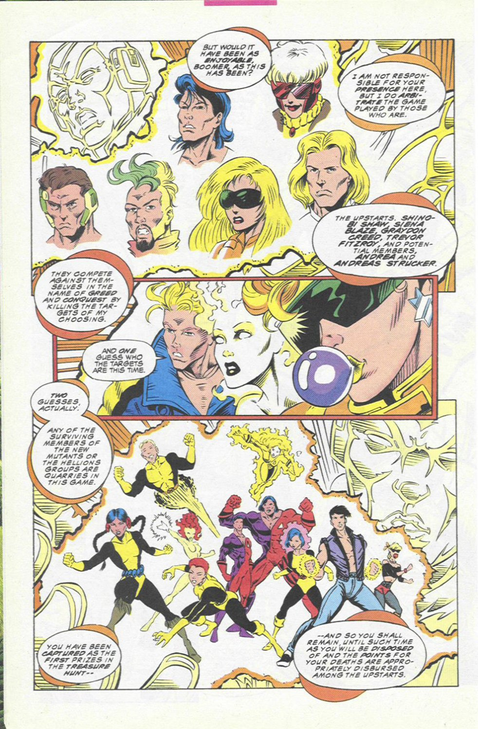 The New Warriors Issue #45 #49 - English 5