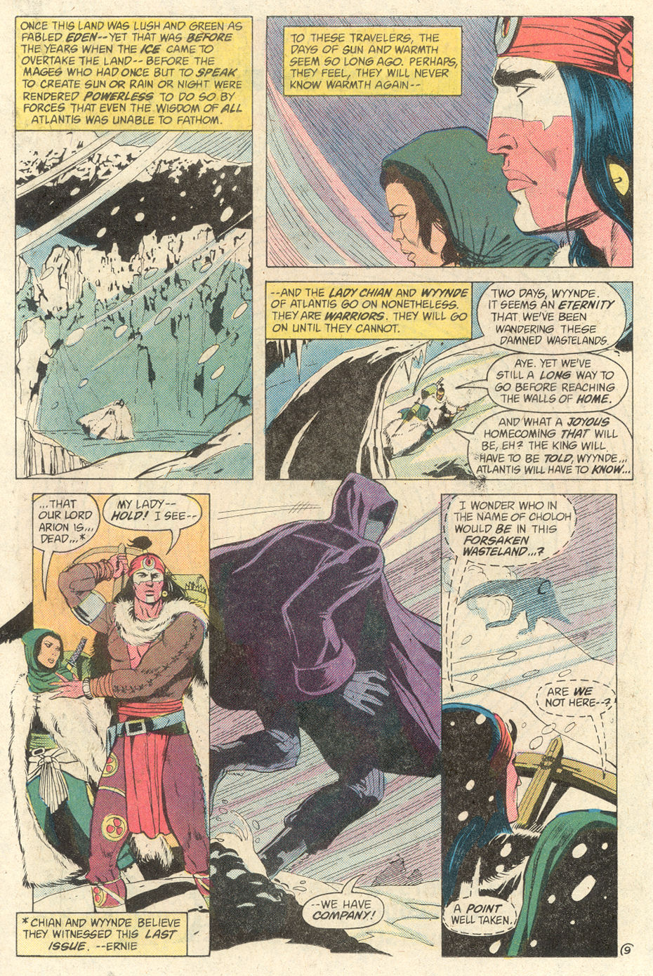 Read online Arion, Lord of Atlantis comic -  Issue #2 - 9