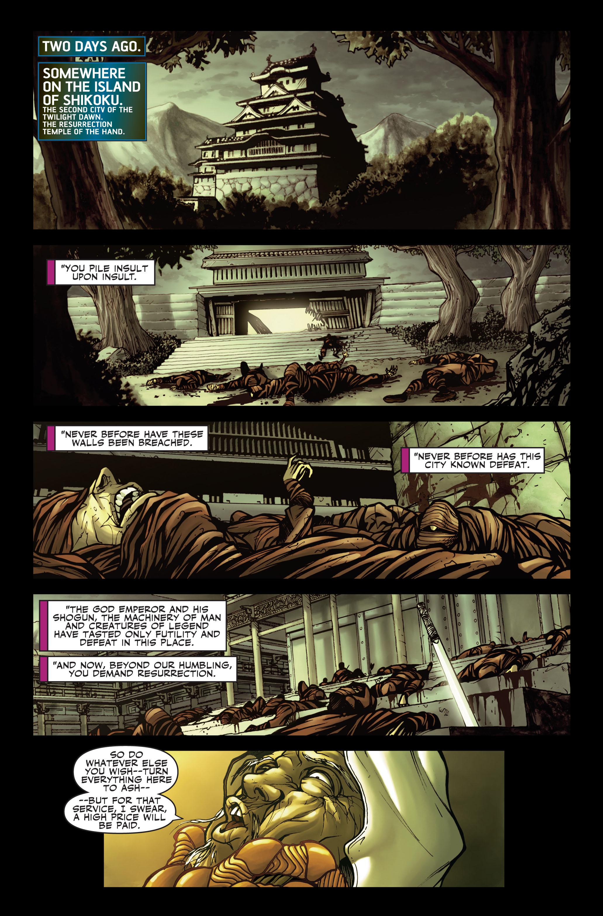 Read online Secret Warriors comic -  Issue #2 - 21