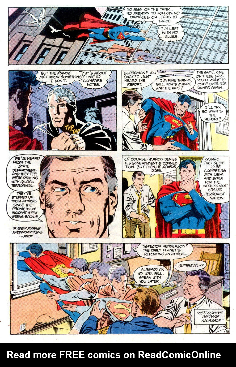 Read online Adventures of Superman (1987) comic -  Issue #424 - 19