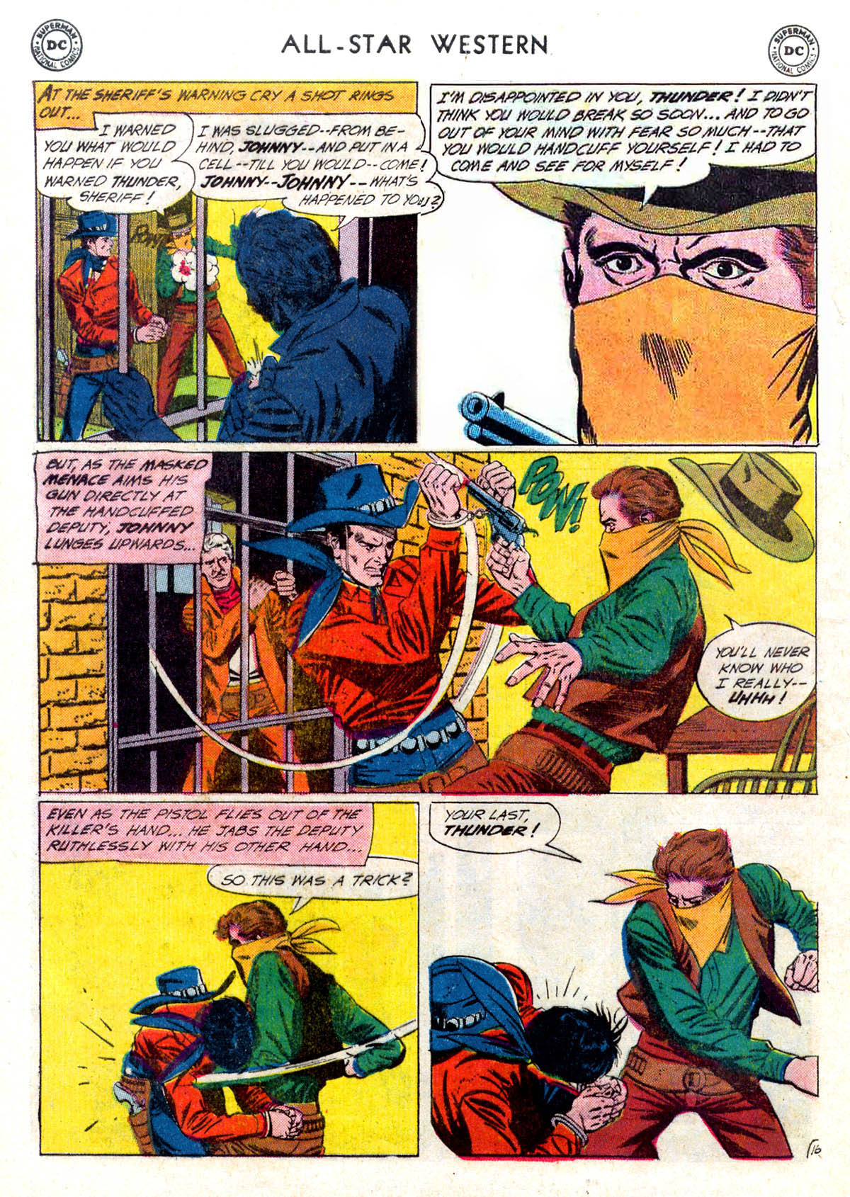 Read online All-Star Western (1951) comic -  Issue #116 - 20
