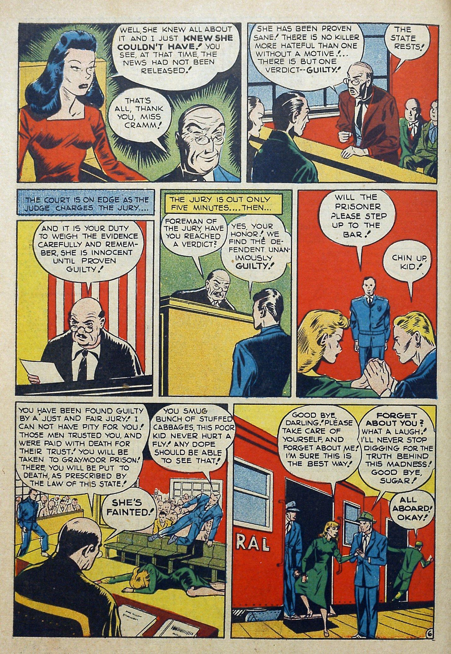 Daredevil (1941) issue 3 - Page 8