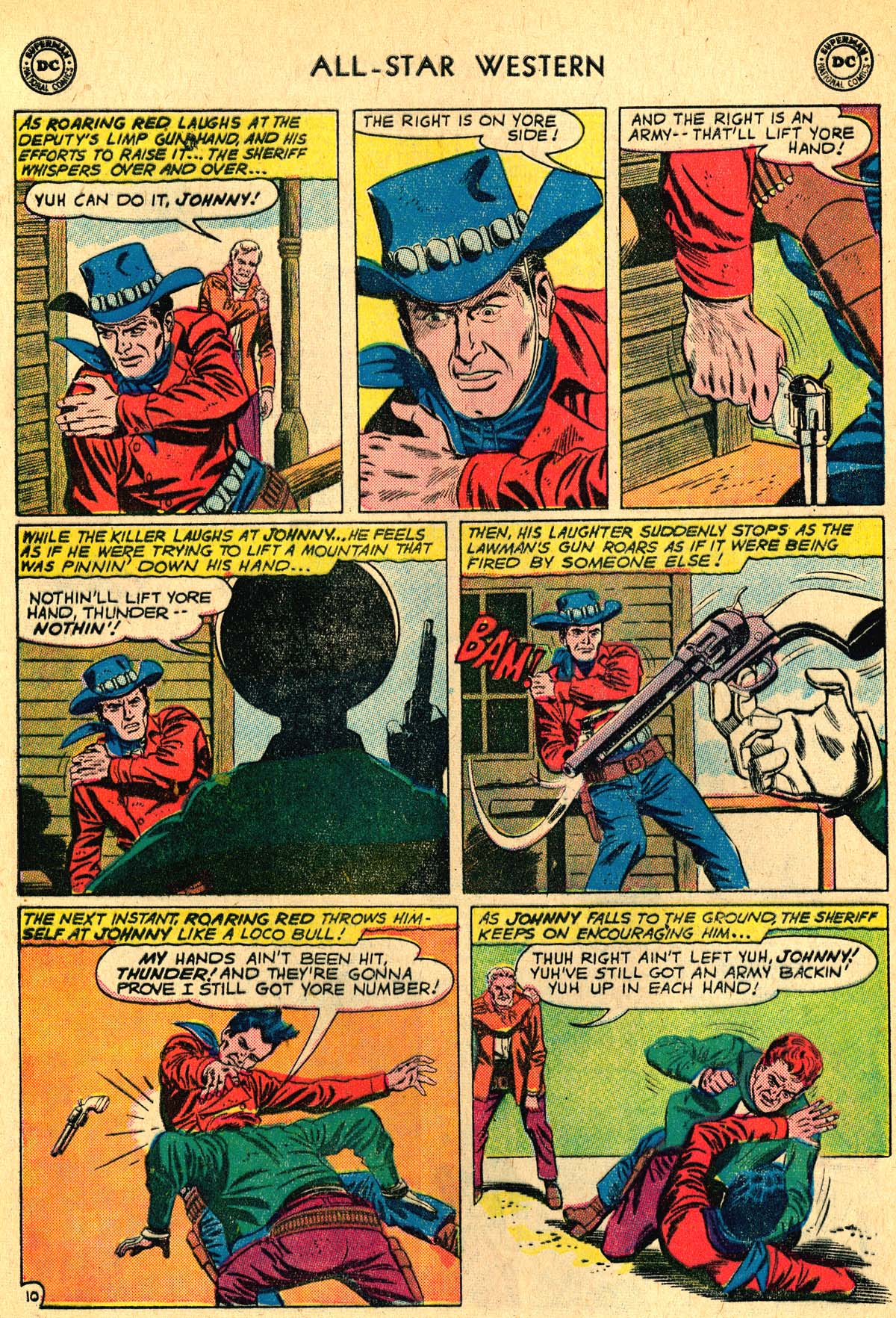 Read online All-Star Western (1951) comic -  Issue #115 - 12
