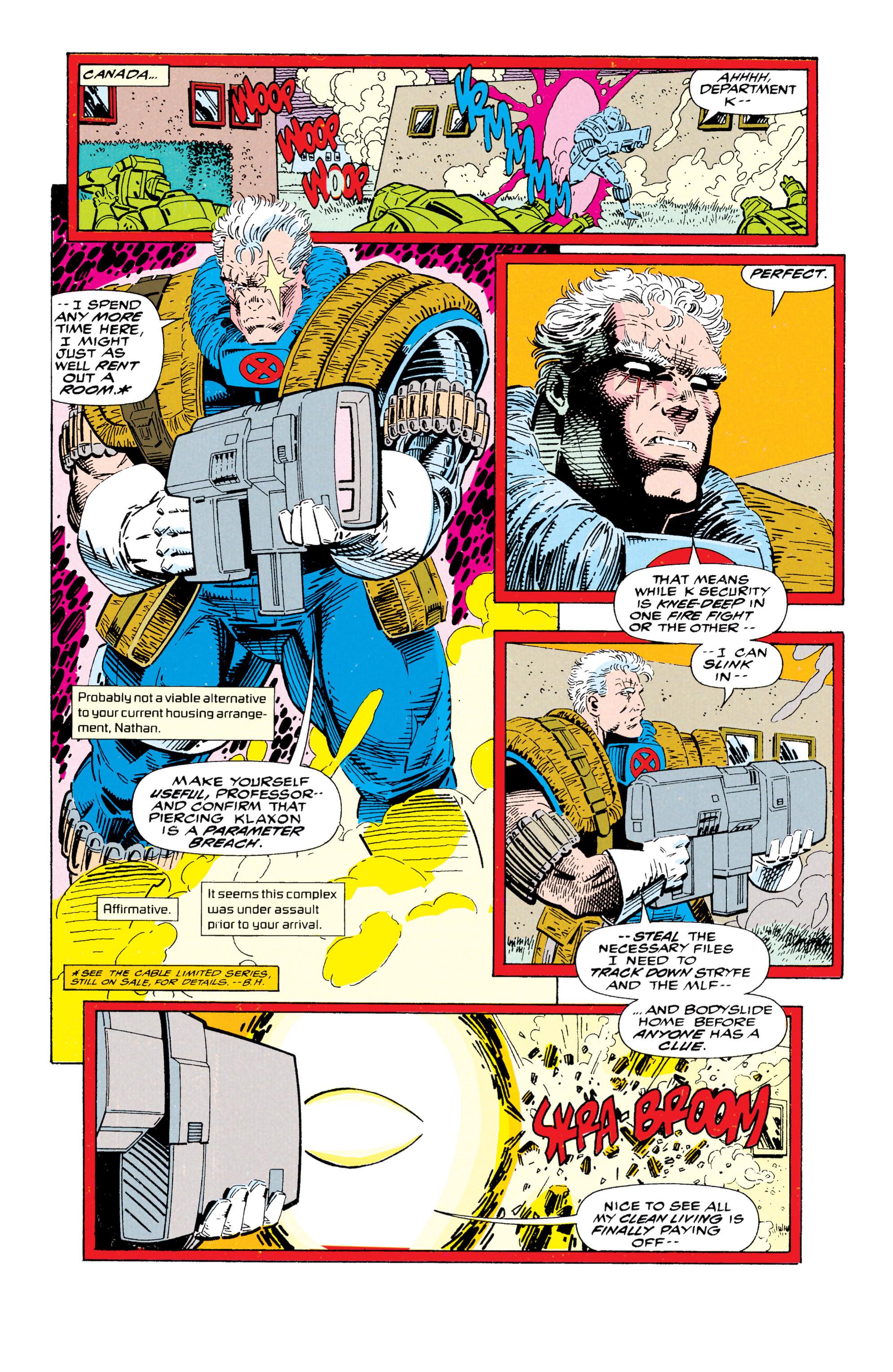 Read online Uncanny X-Men (1963) comic -  Issue #295 - 23
