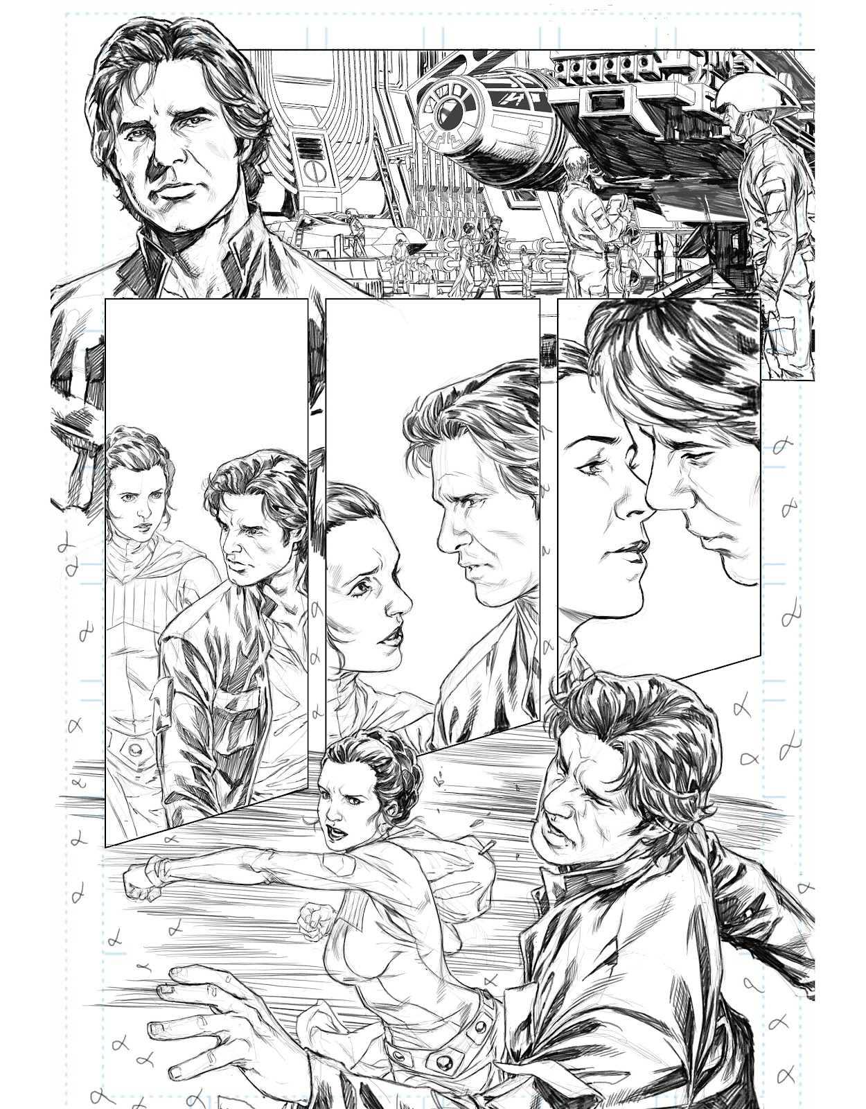 Read online The Marvel Art of Star Wars comic -  Issue # TPB (Part 2) - 37