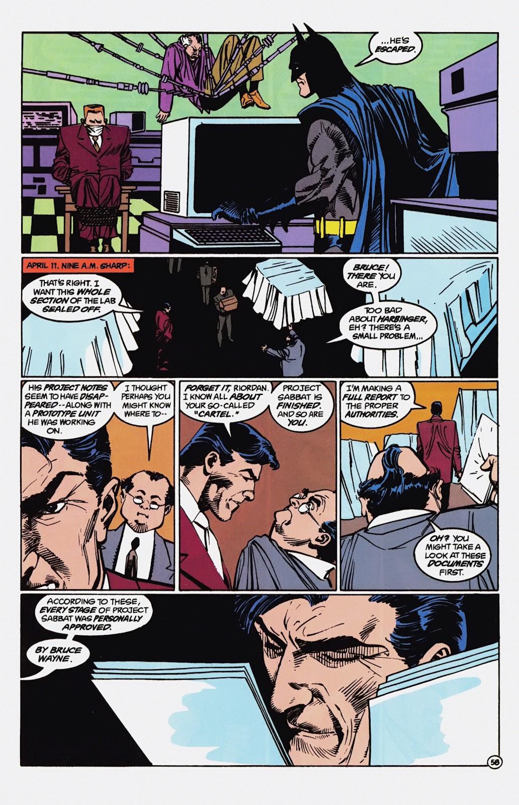 Read online Detective Comics (1937) comic -  Issue # _TPB Batman - Blind Justice (Part 1) - 63