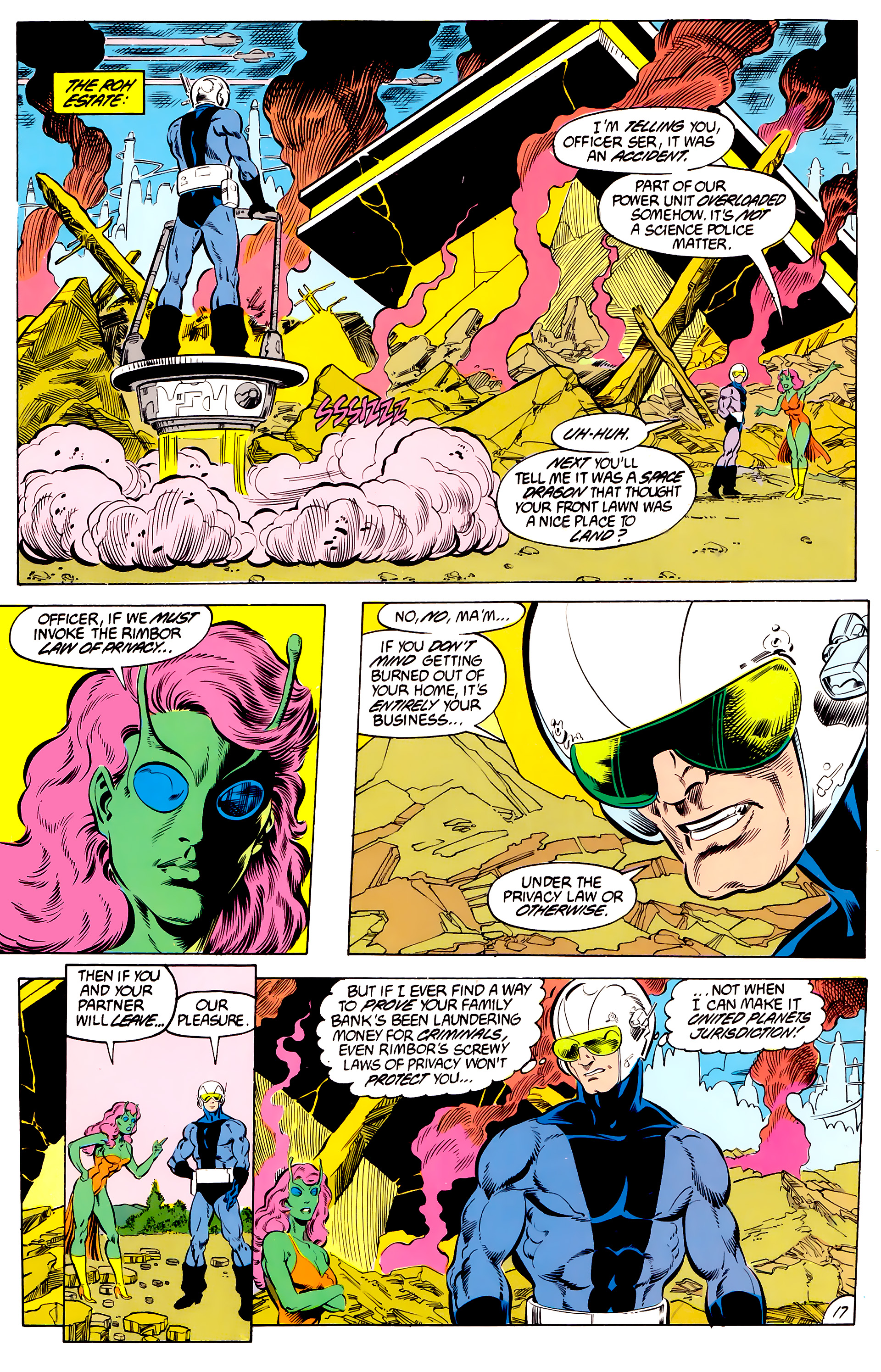 Legion of Super-Heroes (1984) 46 Page 17