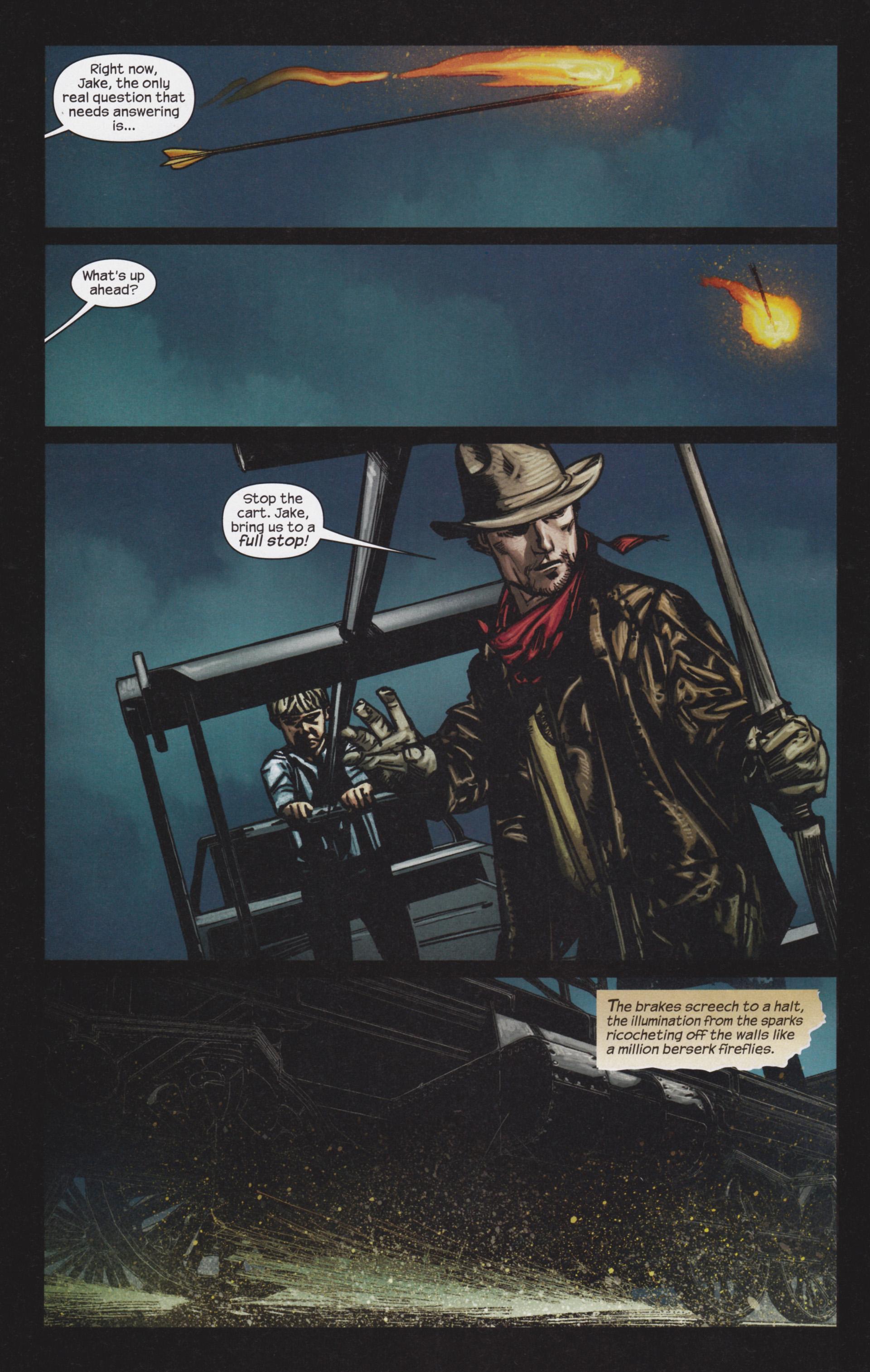 Read online Dark Tower: The Gunslinger - The Man in Black comic -  Issue #4 - 9