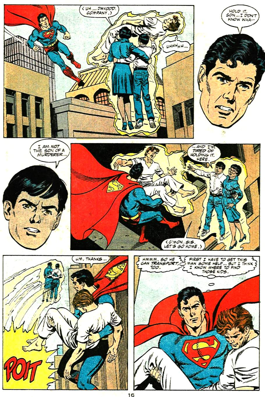 Read online Adventures of Superman (1987) comic -  Issue #471 - 17