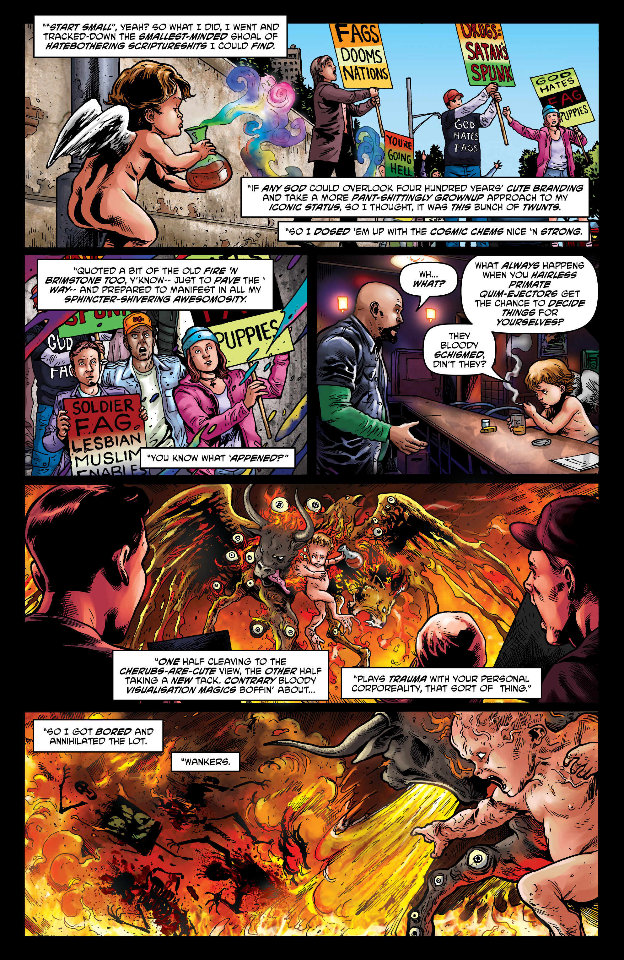 Read online God is Dead: Book of Acts comic -  Issue # Alpha - 42