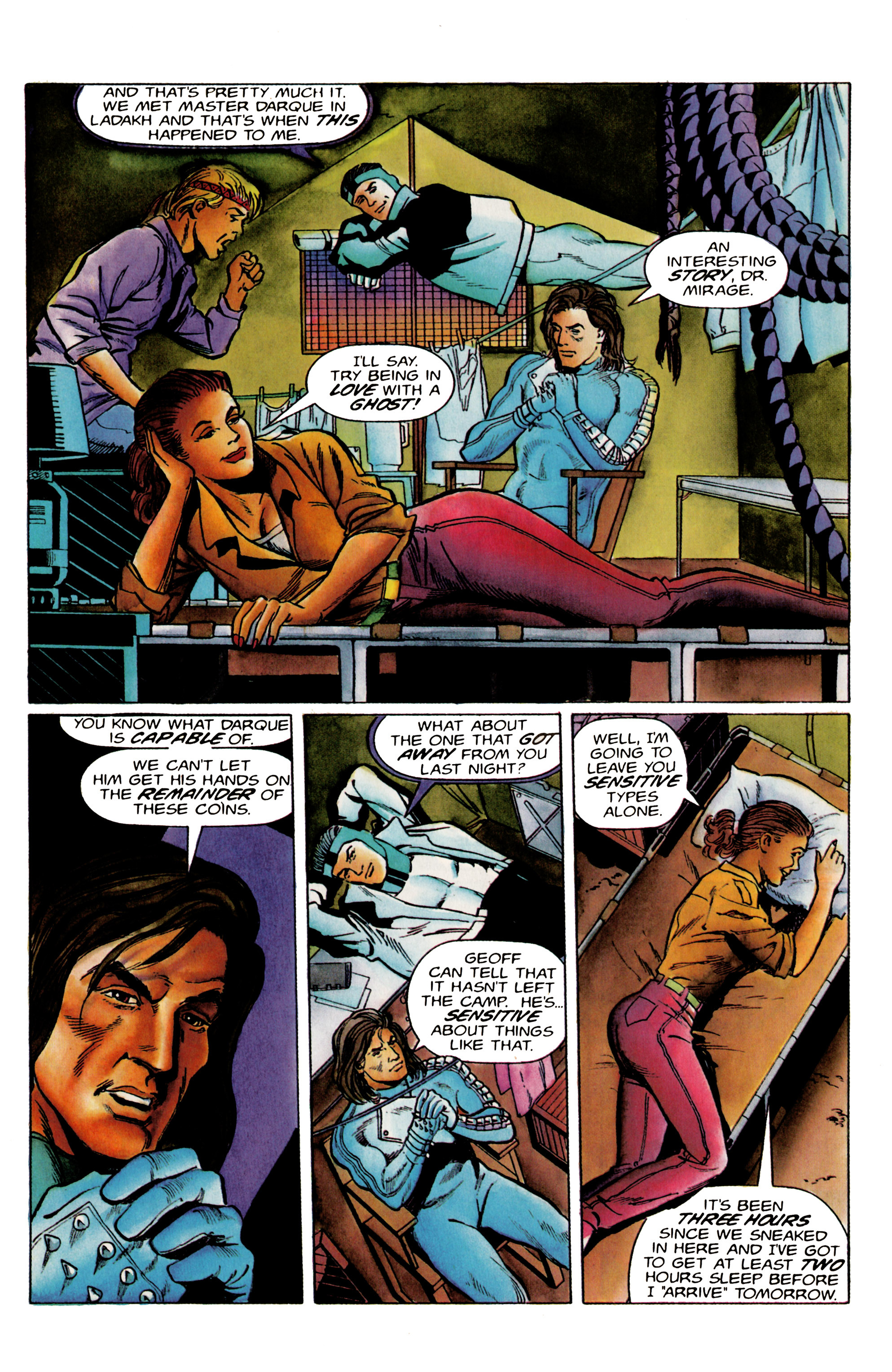Read online Eternal Warrior (1992) comic -  Issue #19 - 7