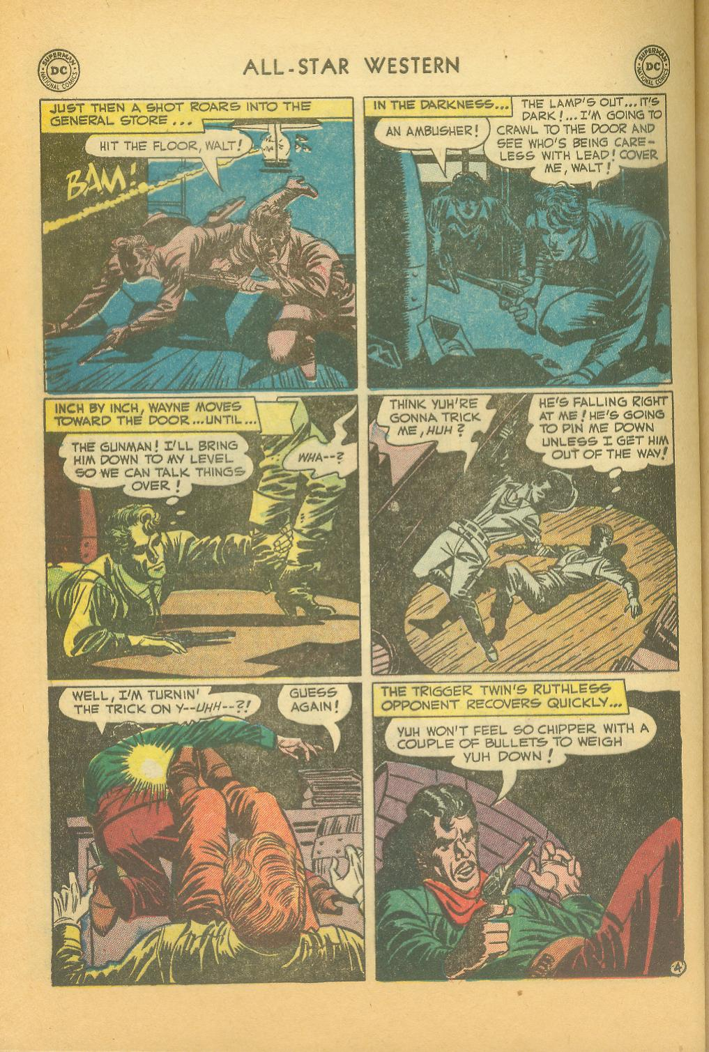 Read online All-Star Western (1951) comic -  Issue #61 - 34