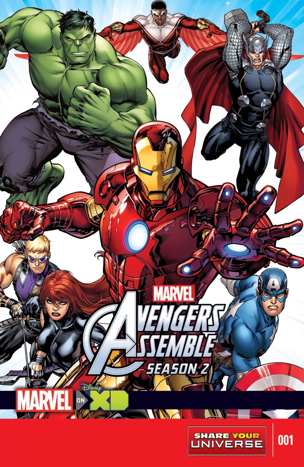 Read online Marvel Universe Avengers Assemble Season 2 comic -  Issue #1 - 1