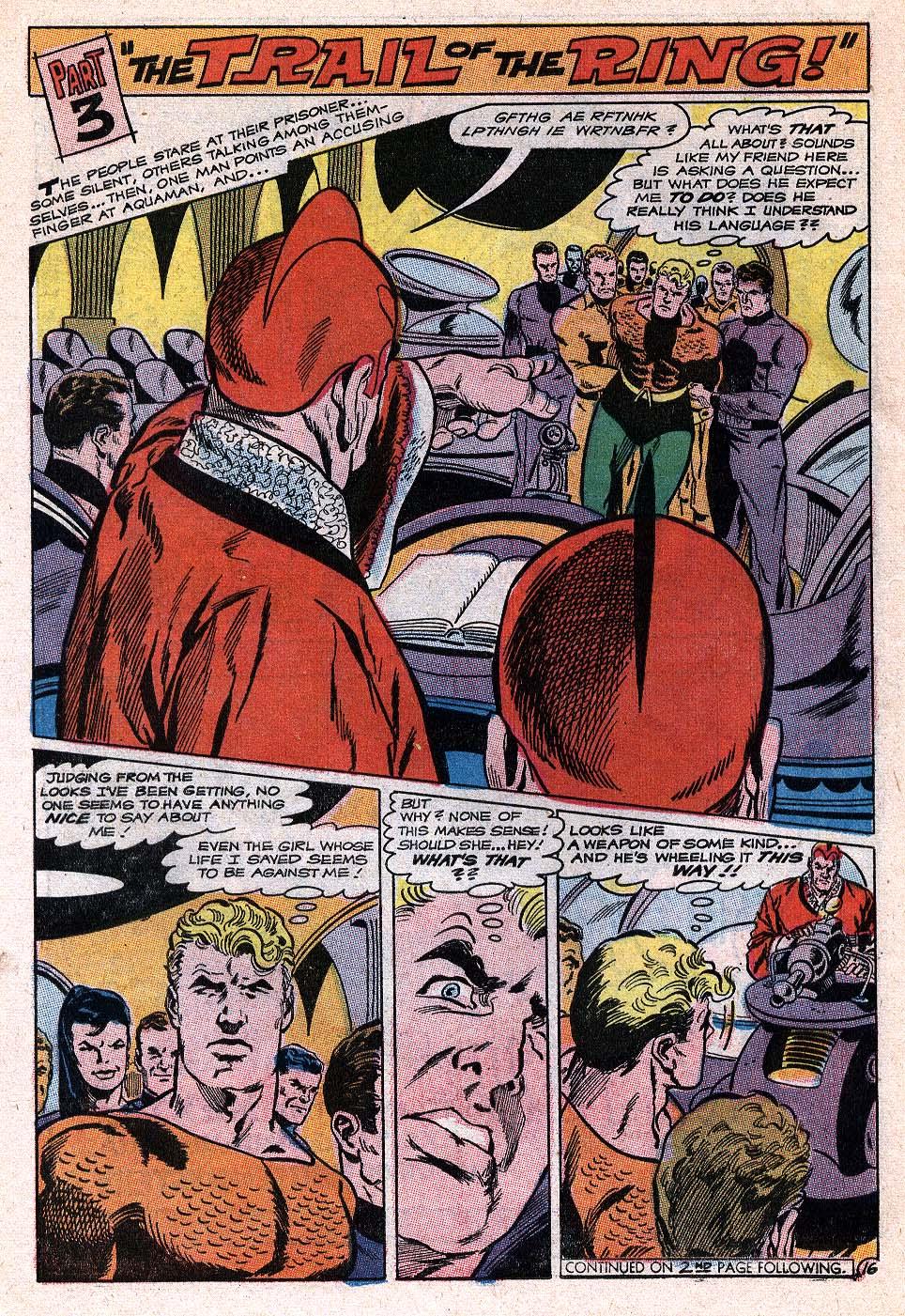 Read online Aquaman (1962) comic -  Issue #41 - 21