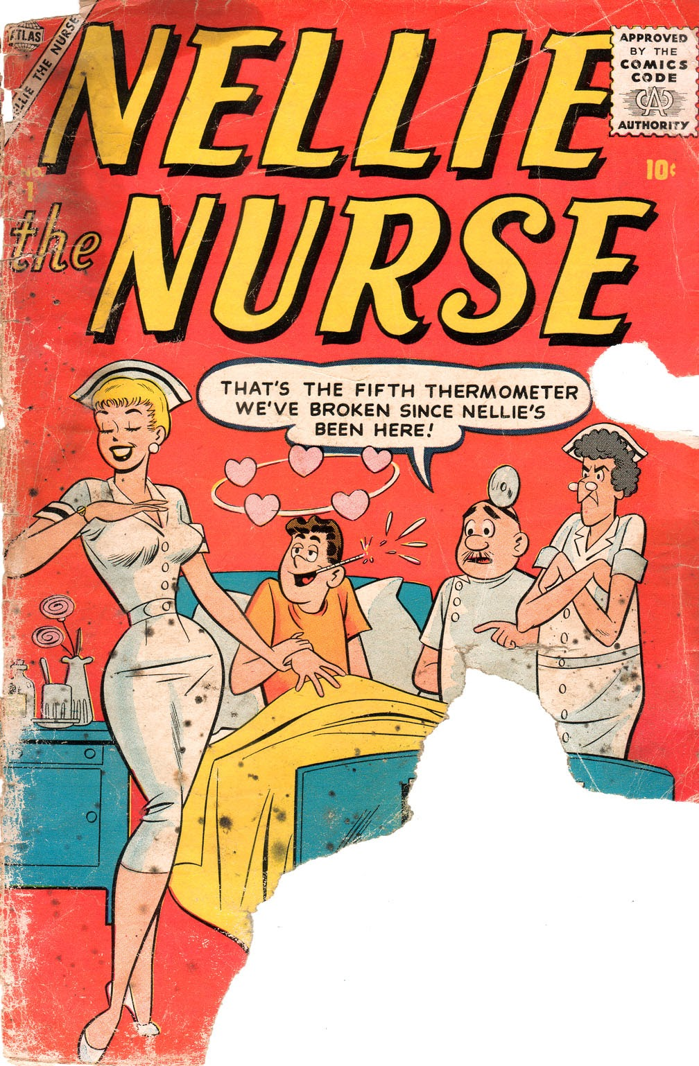 Read online Nellie The Nurse (1957) comic -  Issue # Full - 2