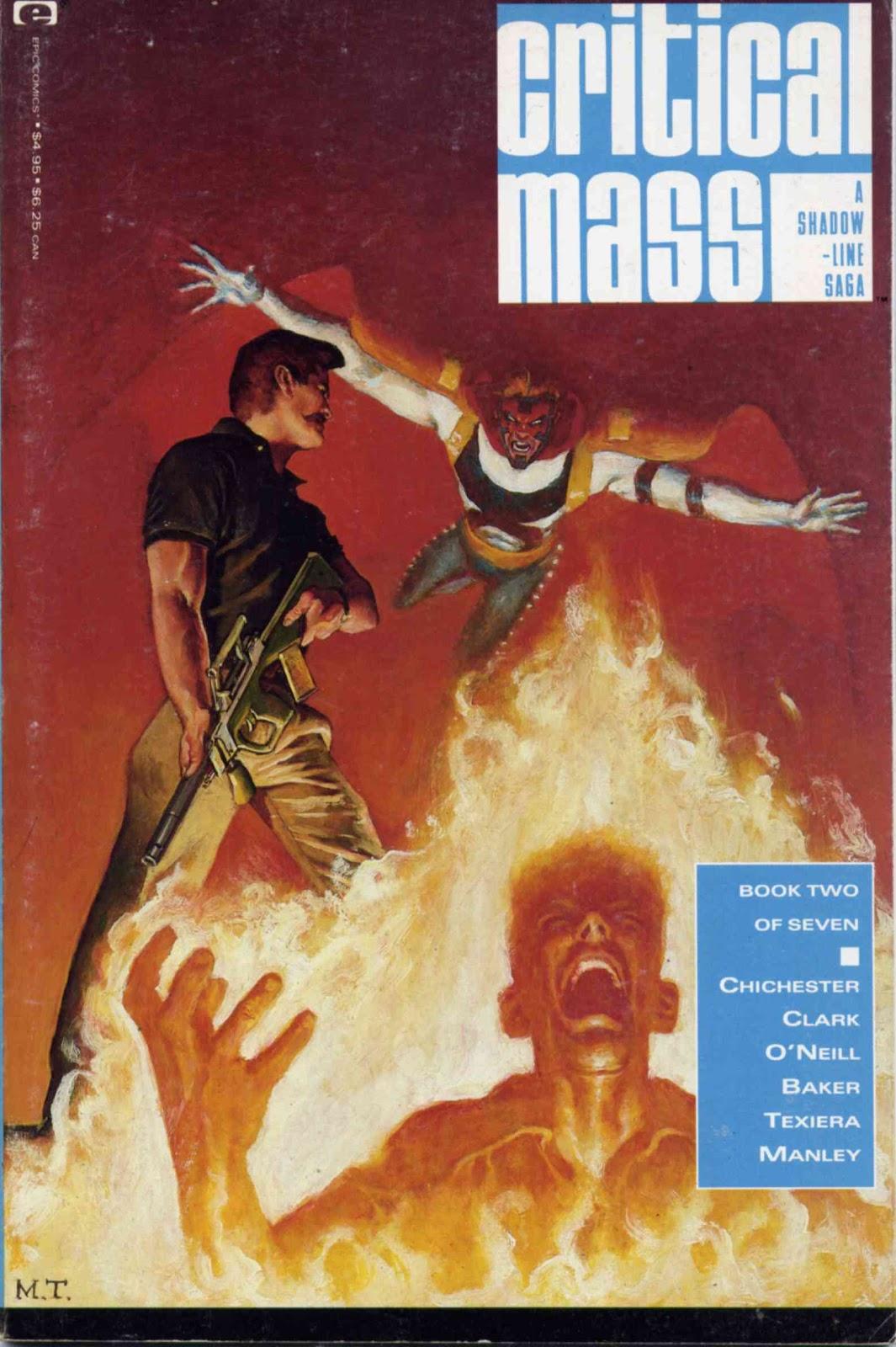 A Shadowline Saga: Critical Mass issue 2 - Page 1