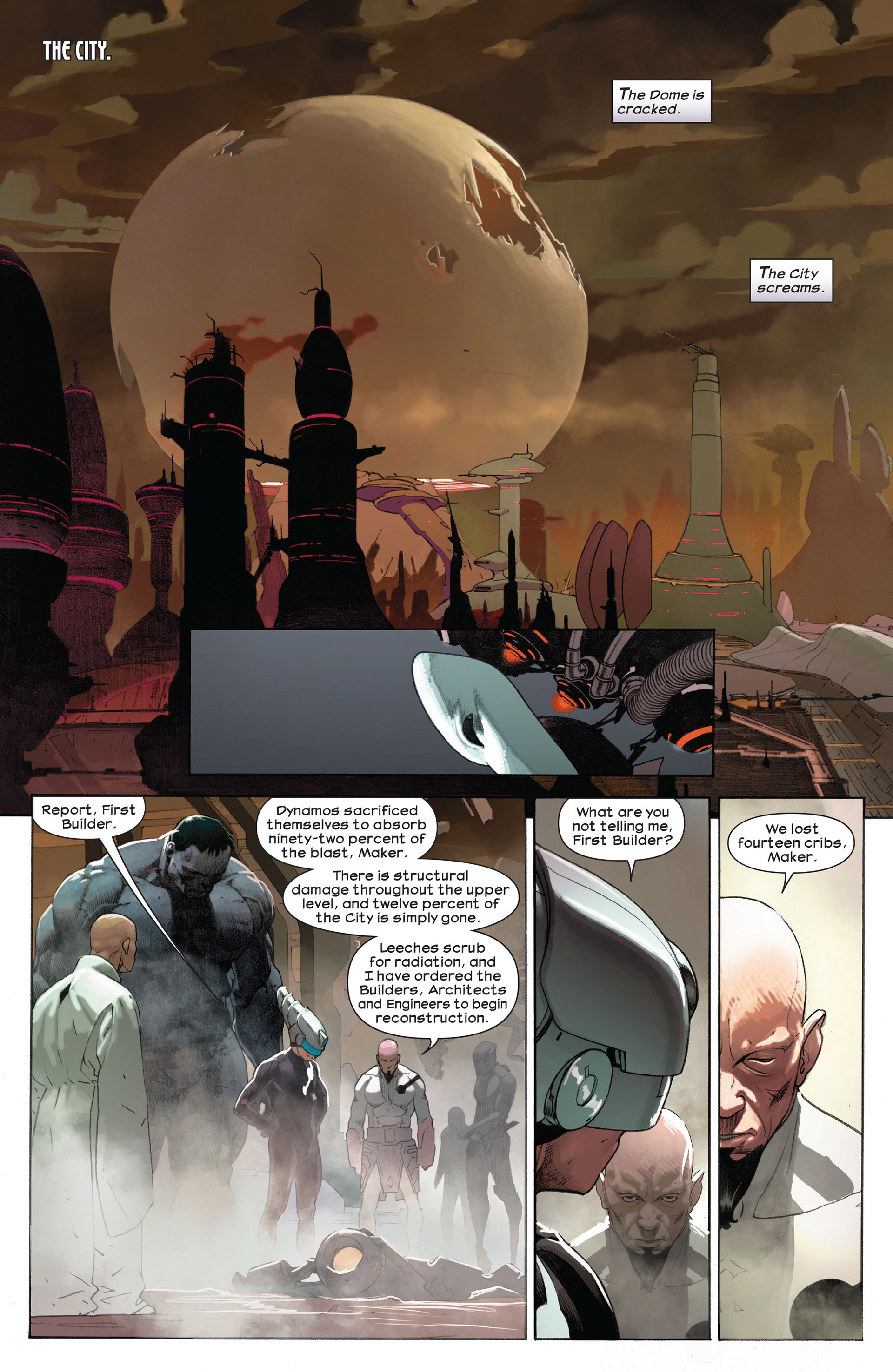 Read online Ultimate Comics Ultimates comic -  Issue #9 - 17