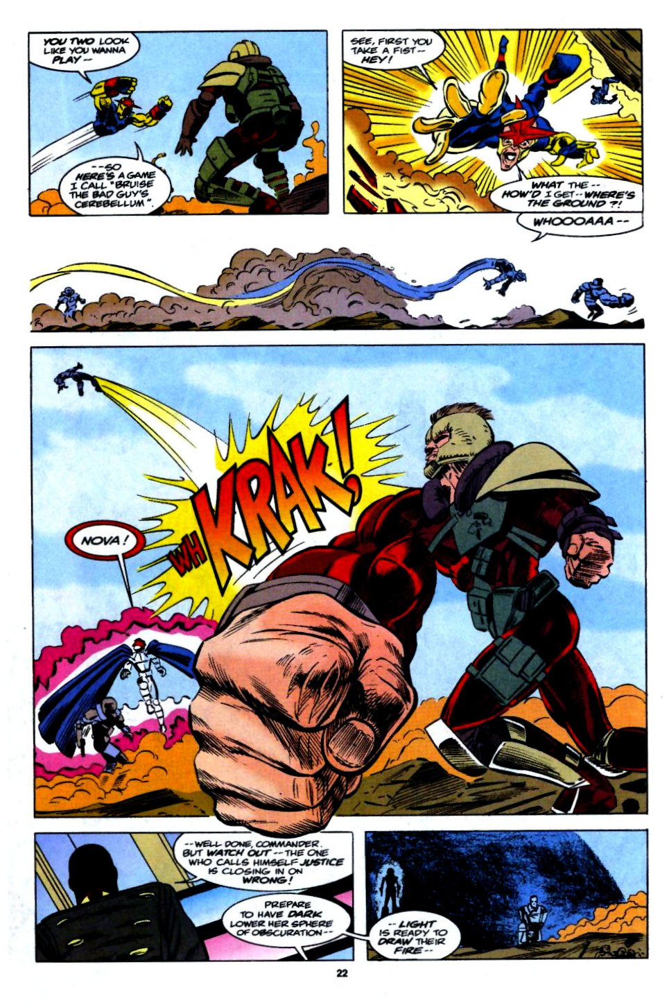The New Warriors Issue #54 #58 - English 17
